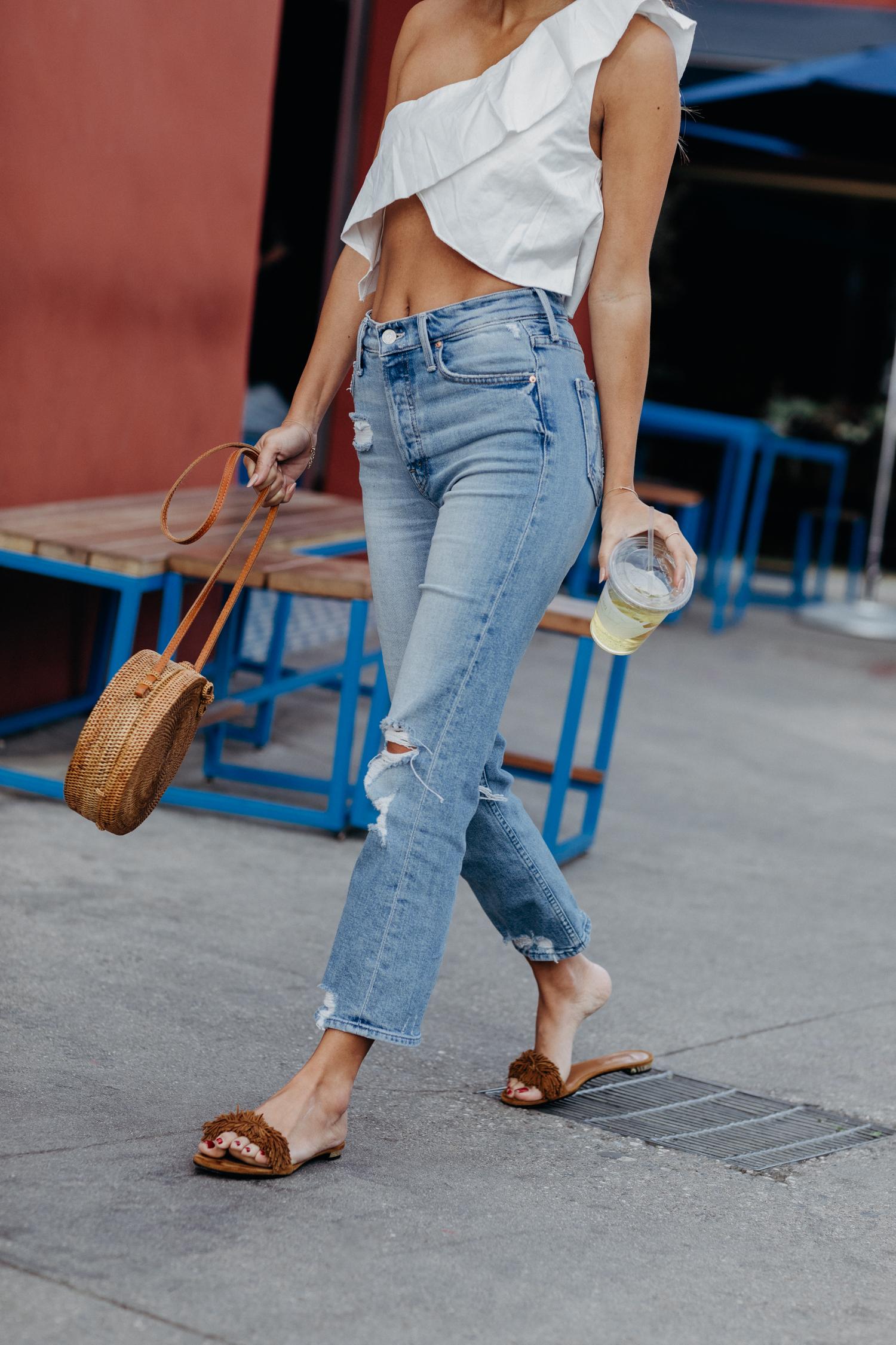 Best petite crop jeans: Mother Denim