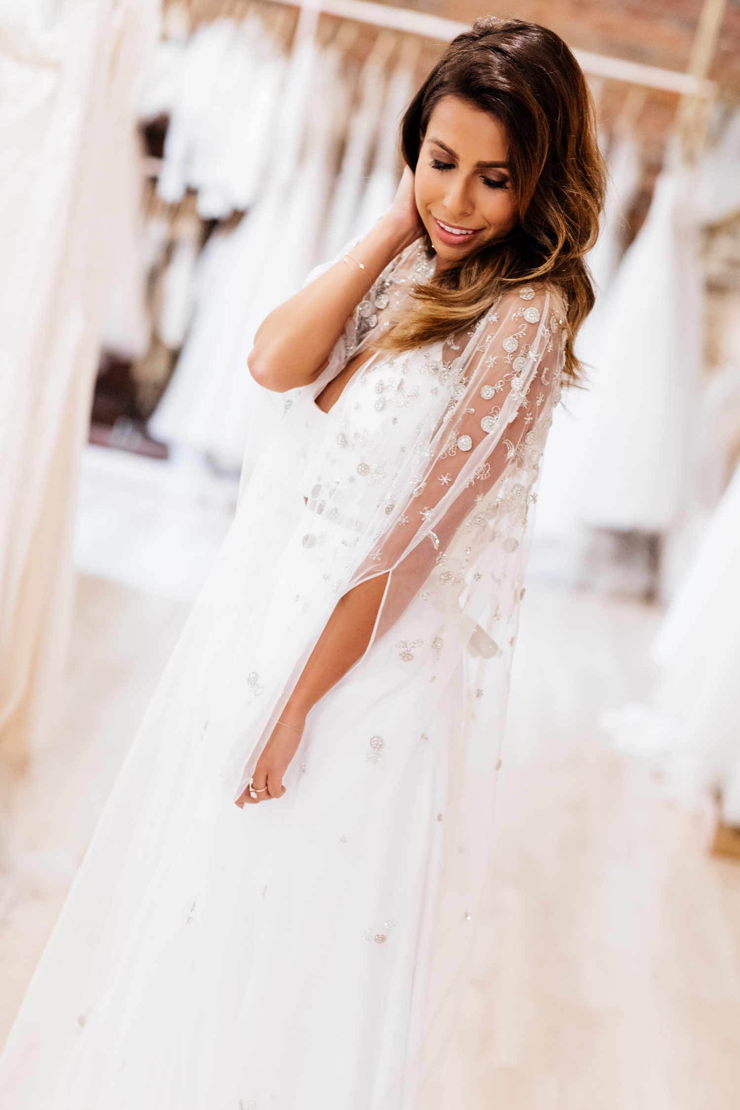 Wedding Cape at Lovely Bride Los Angeles - Everyday Pursuits
