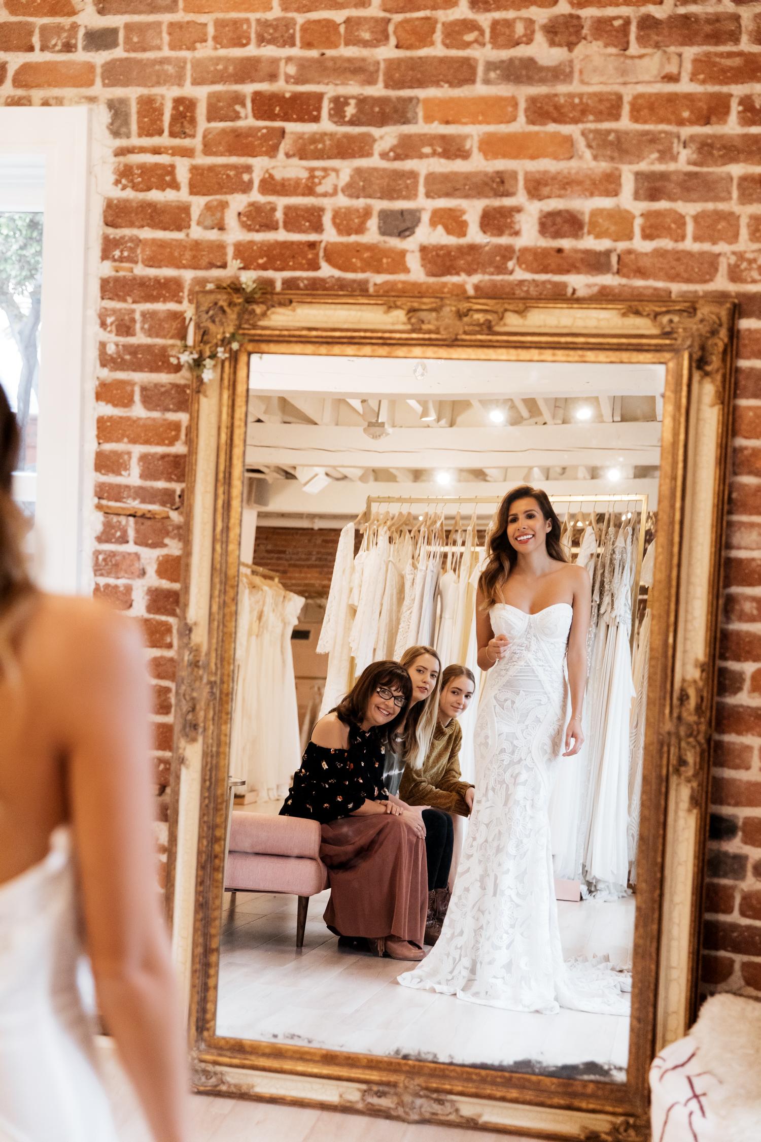 Rue De Seine Wedding Dress at Lovely Bride Los Angeles - Everyday Pursuits