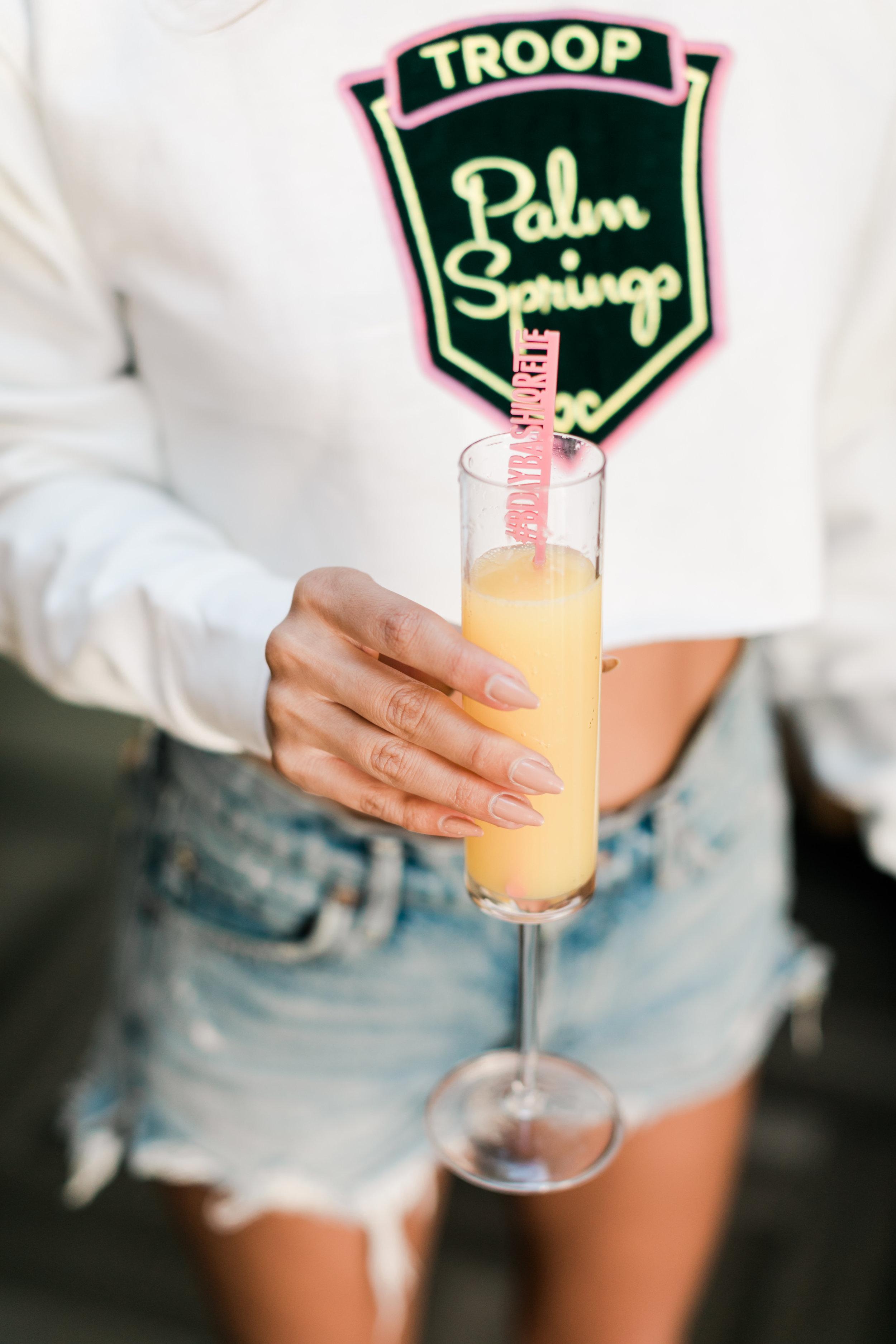 Bachelorette Drink Stirrers - Palm Springs