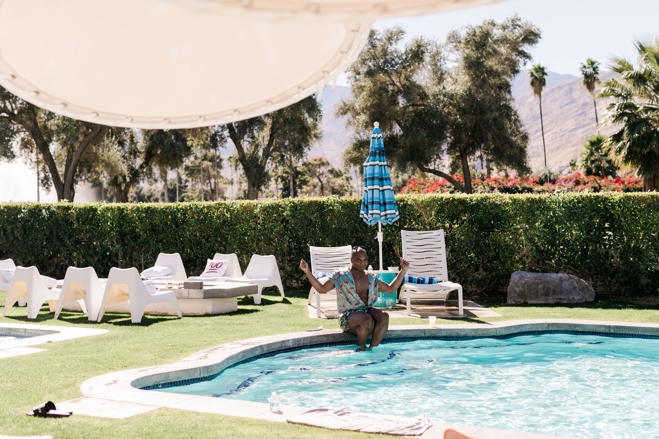 Huge Palm Springs Airbnb   Palm Springs Bachelorette Party