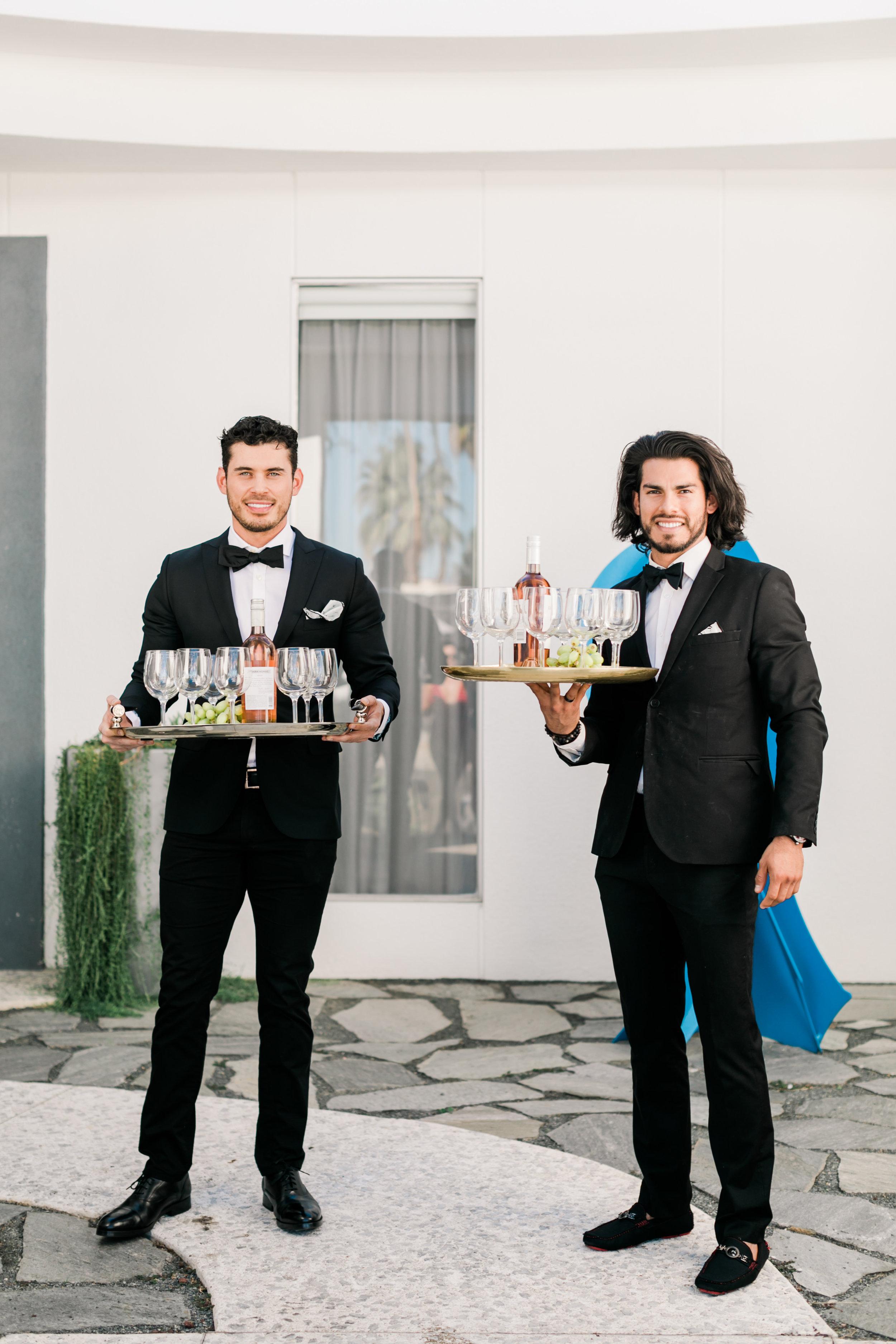 Manservants - Bachelorette Party Idea
