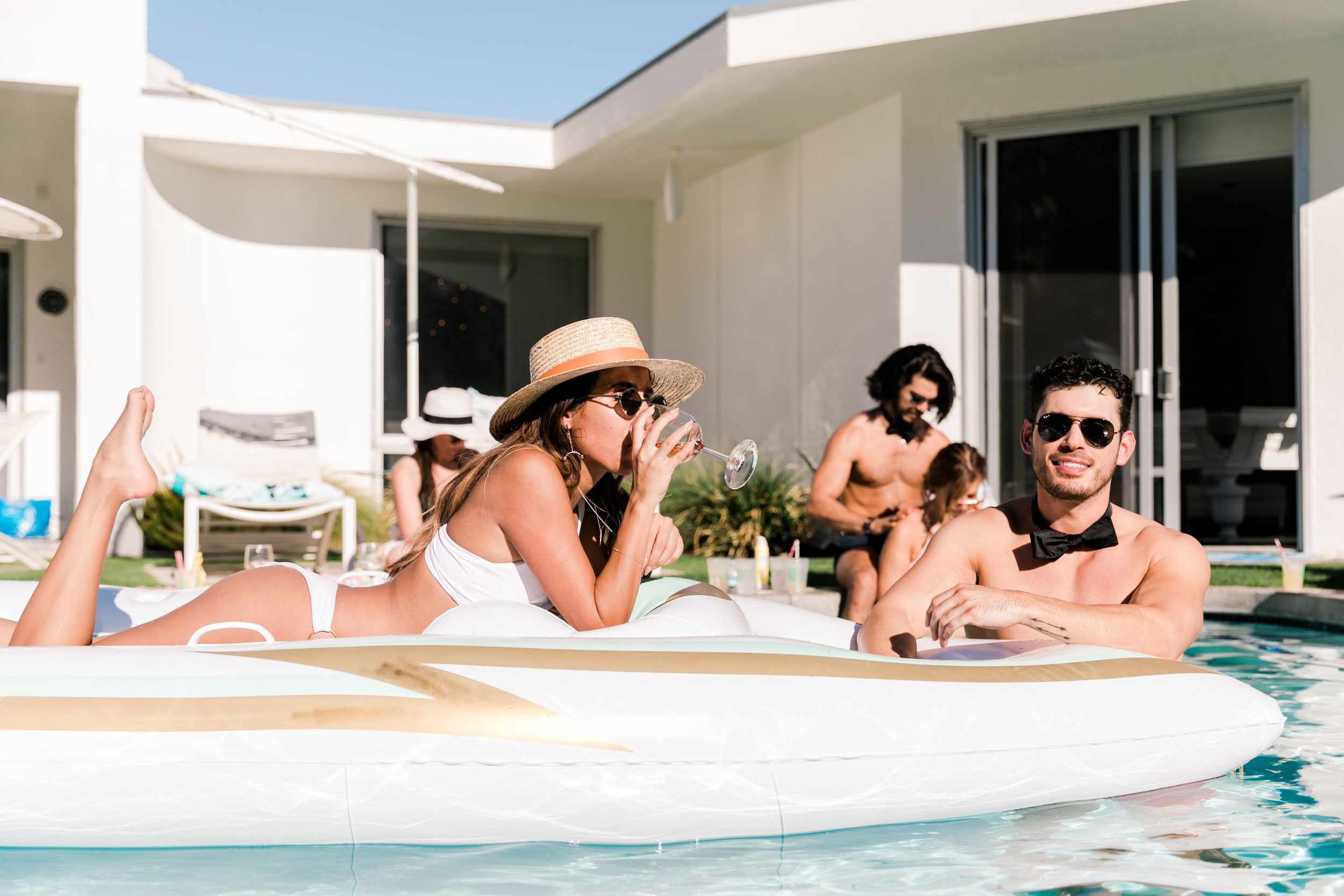 Everyday Pursuits Palm Springs Bachelorette - Funboy Yacht Float