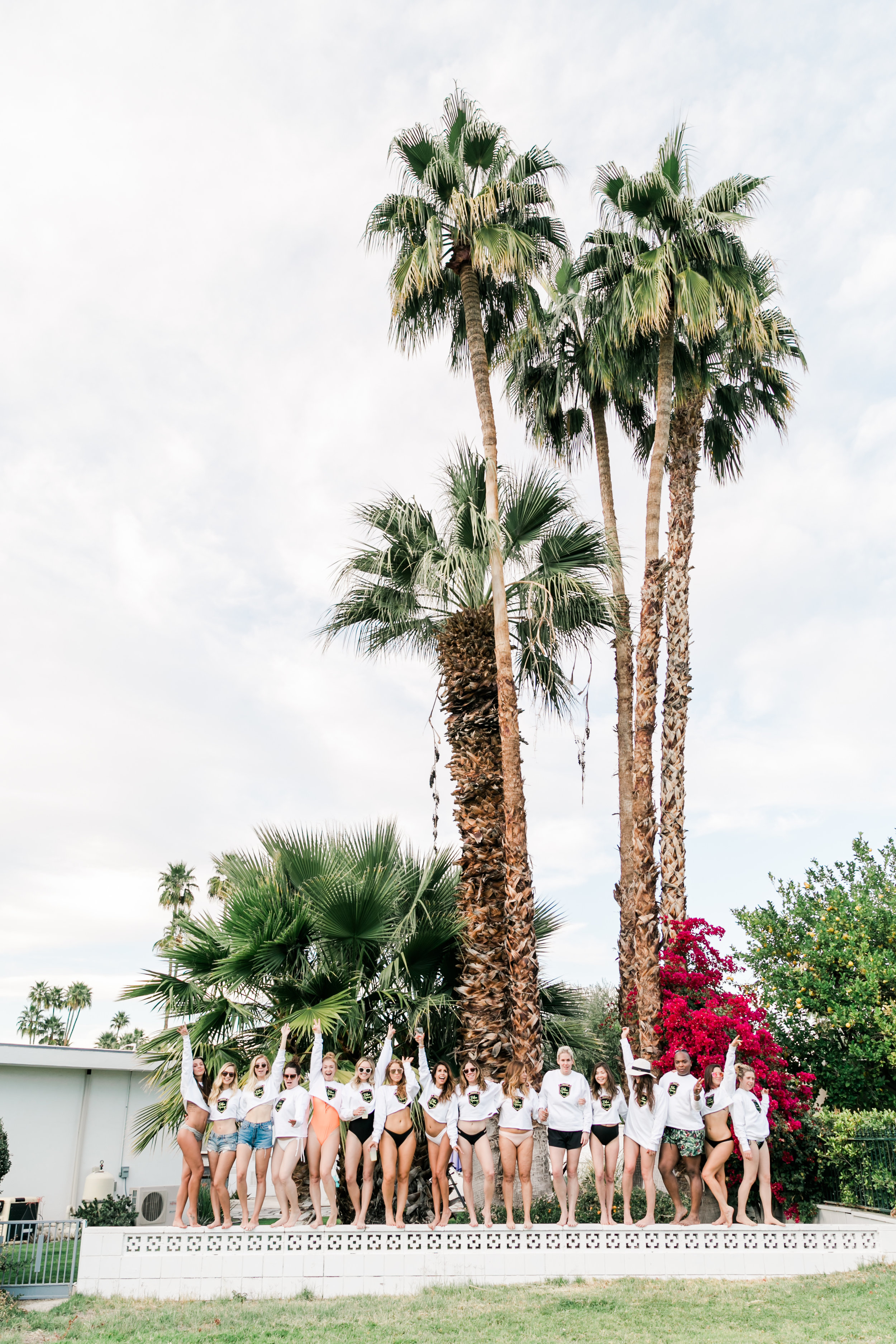 Everyday Pursuits Palm Springs Bachelorette Party