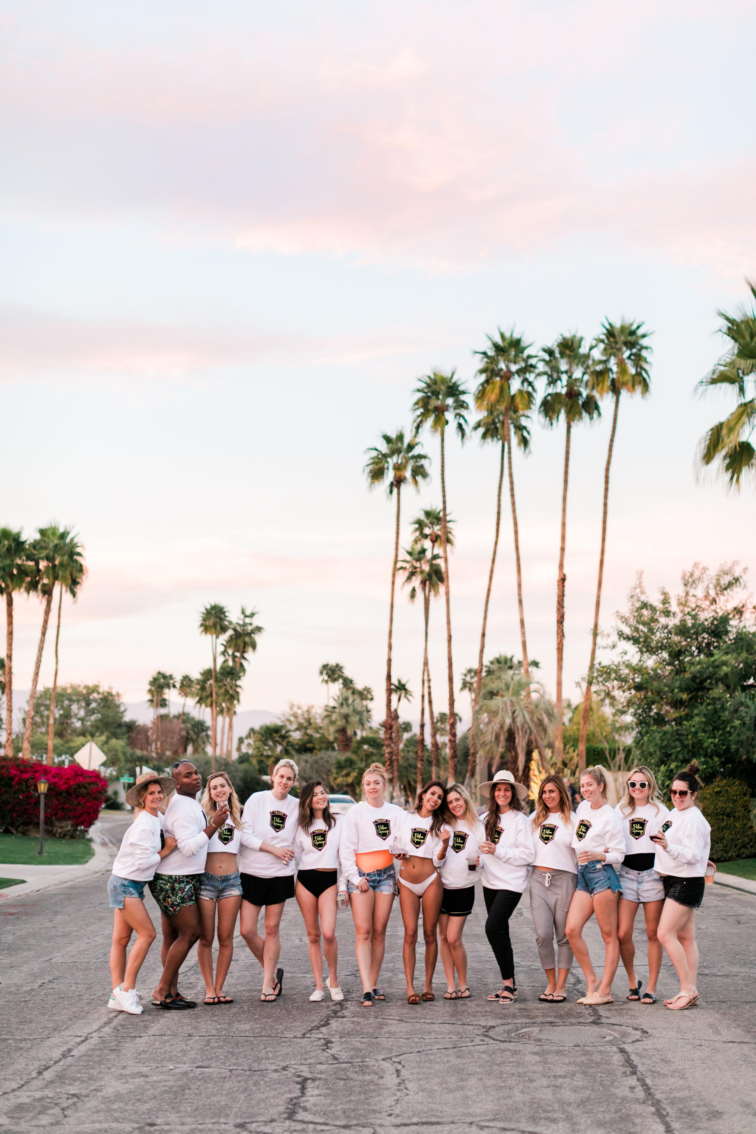 Palm Springs Sunset Walk - Everyday Pursuits Bachelorette