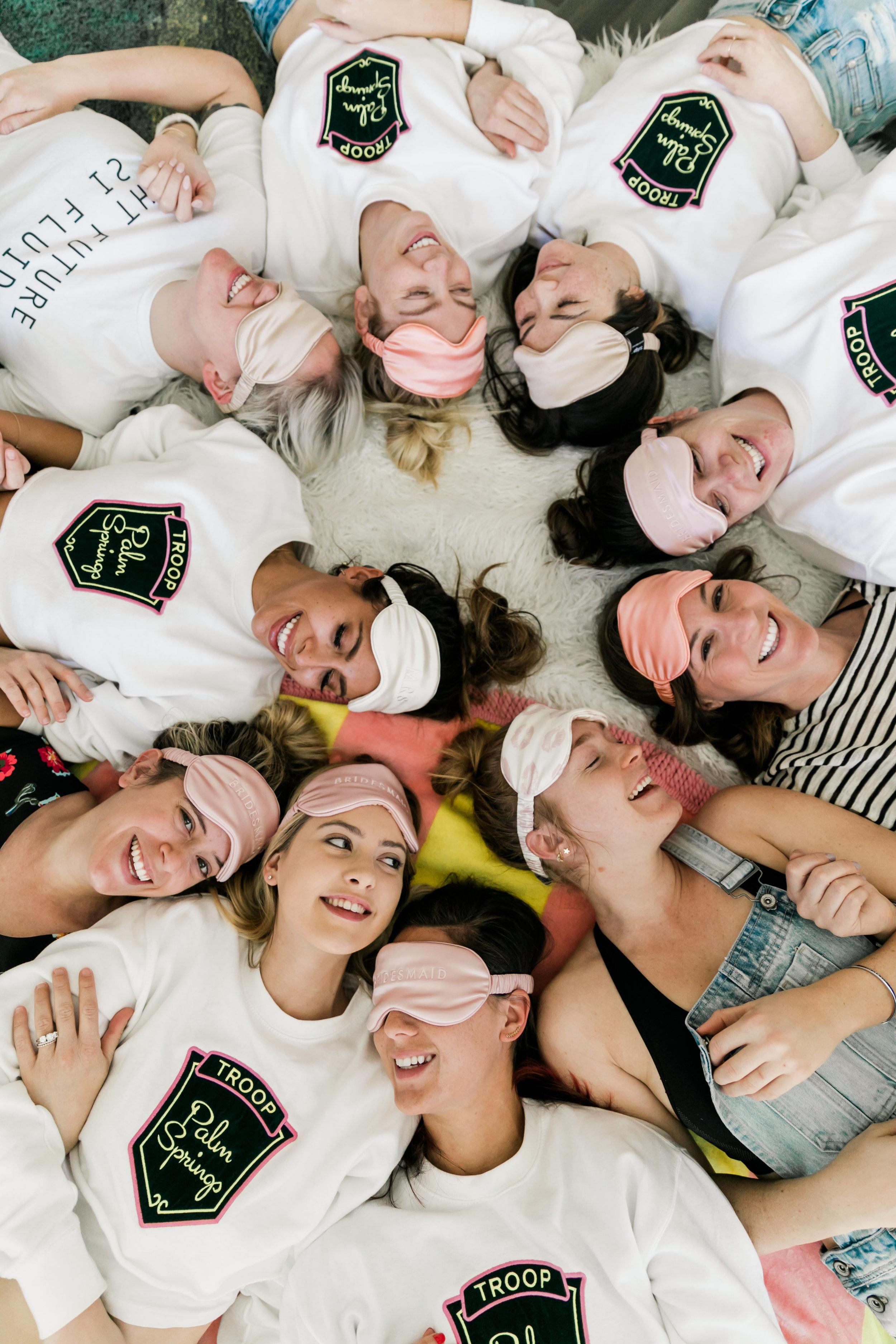 Silk Sleep Masks - Bachelorette Party Gifts