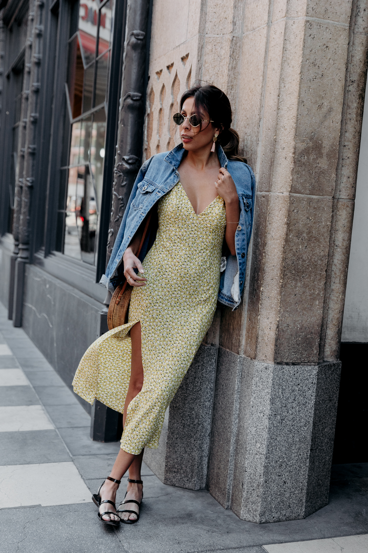 Easy summer outfit ft. Endless Summer Slip dress on Everyday Pursuits