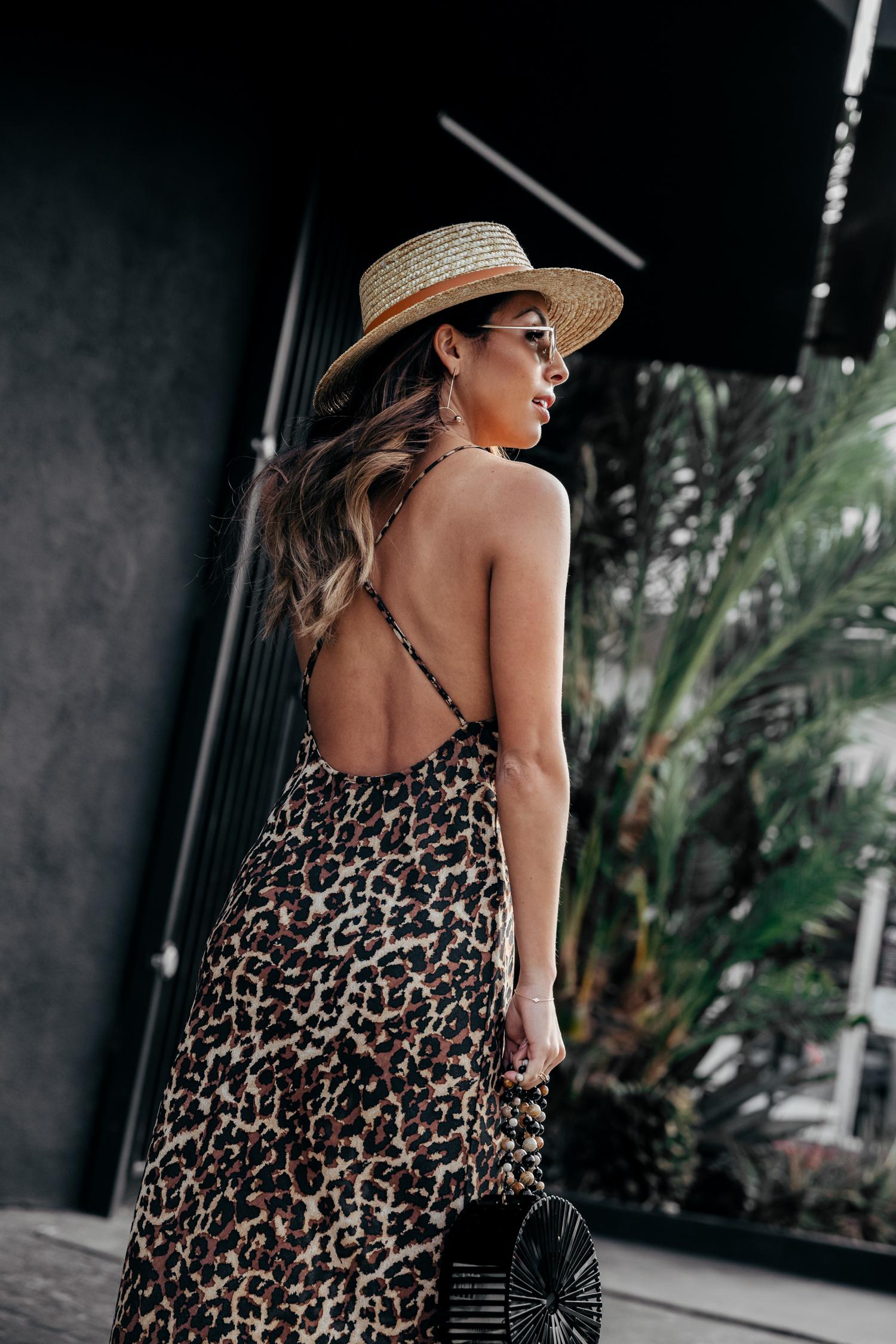 Leopard Slip Dress from Endless Summer
