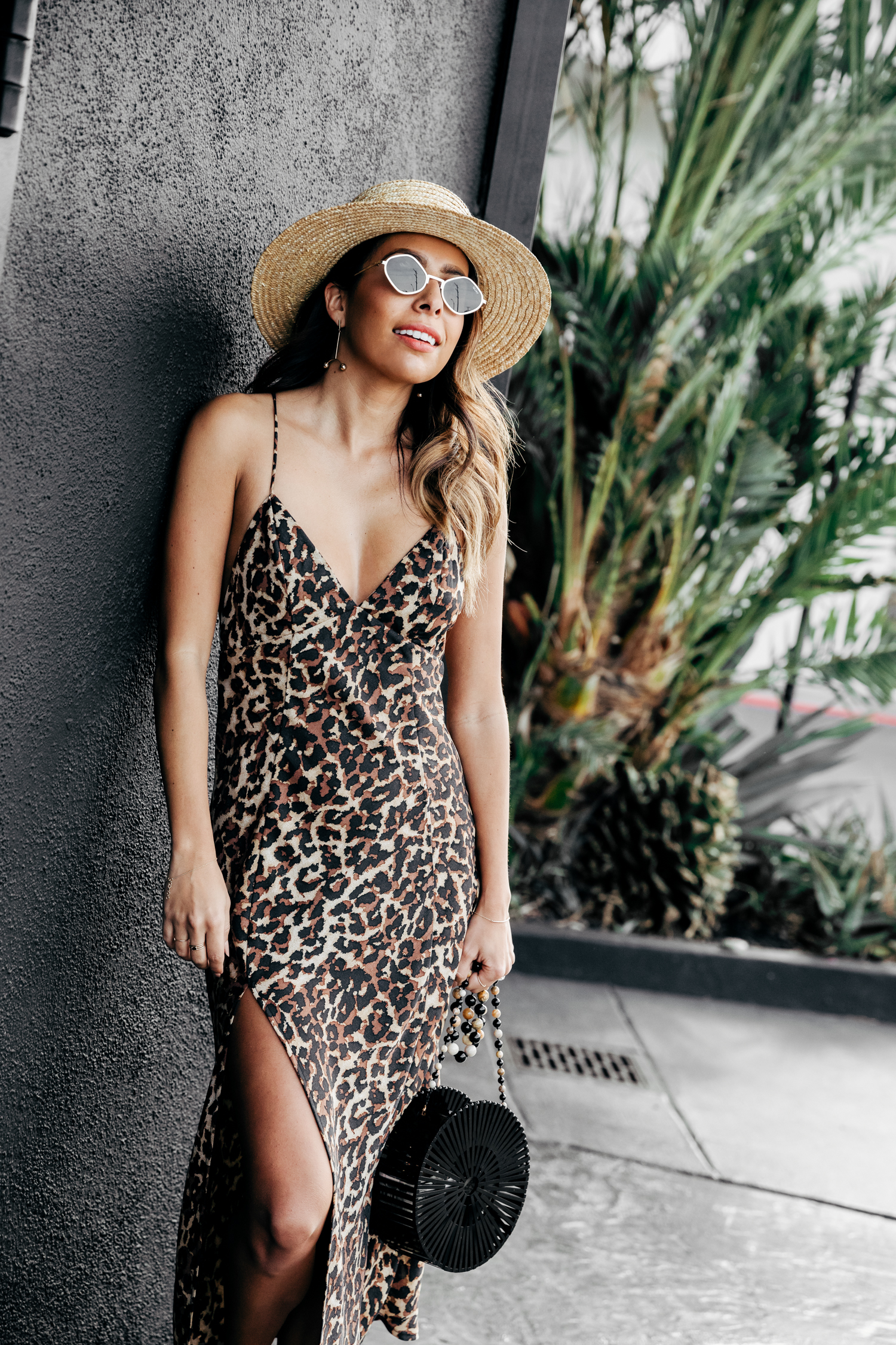 Everyday Pursuit in Endless Summer - easy leopard slip dress