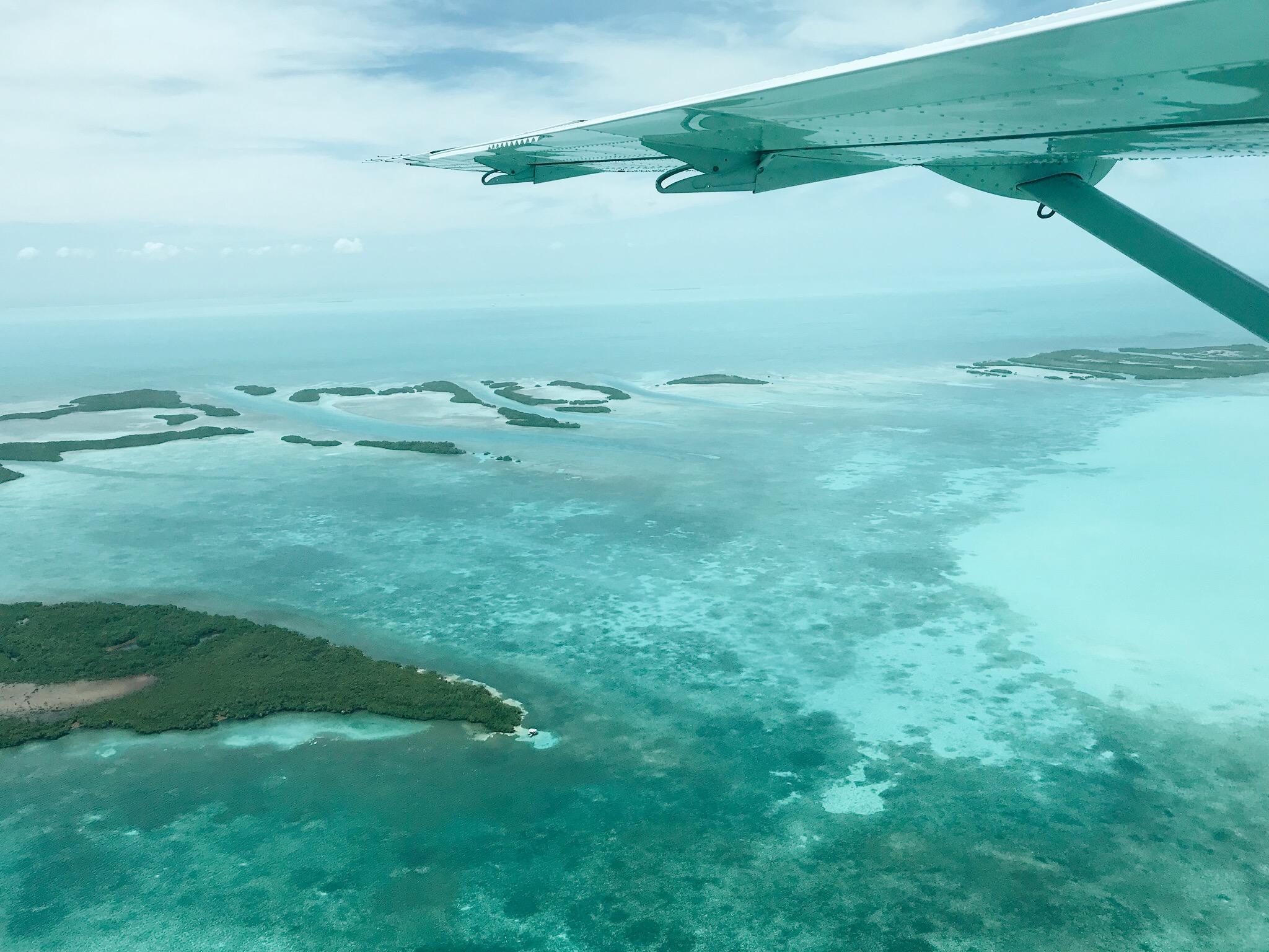 Tropic Air Flight from GAIA to Matachica Resort, Belize