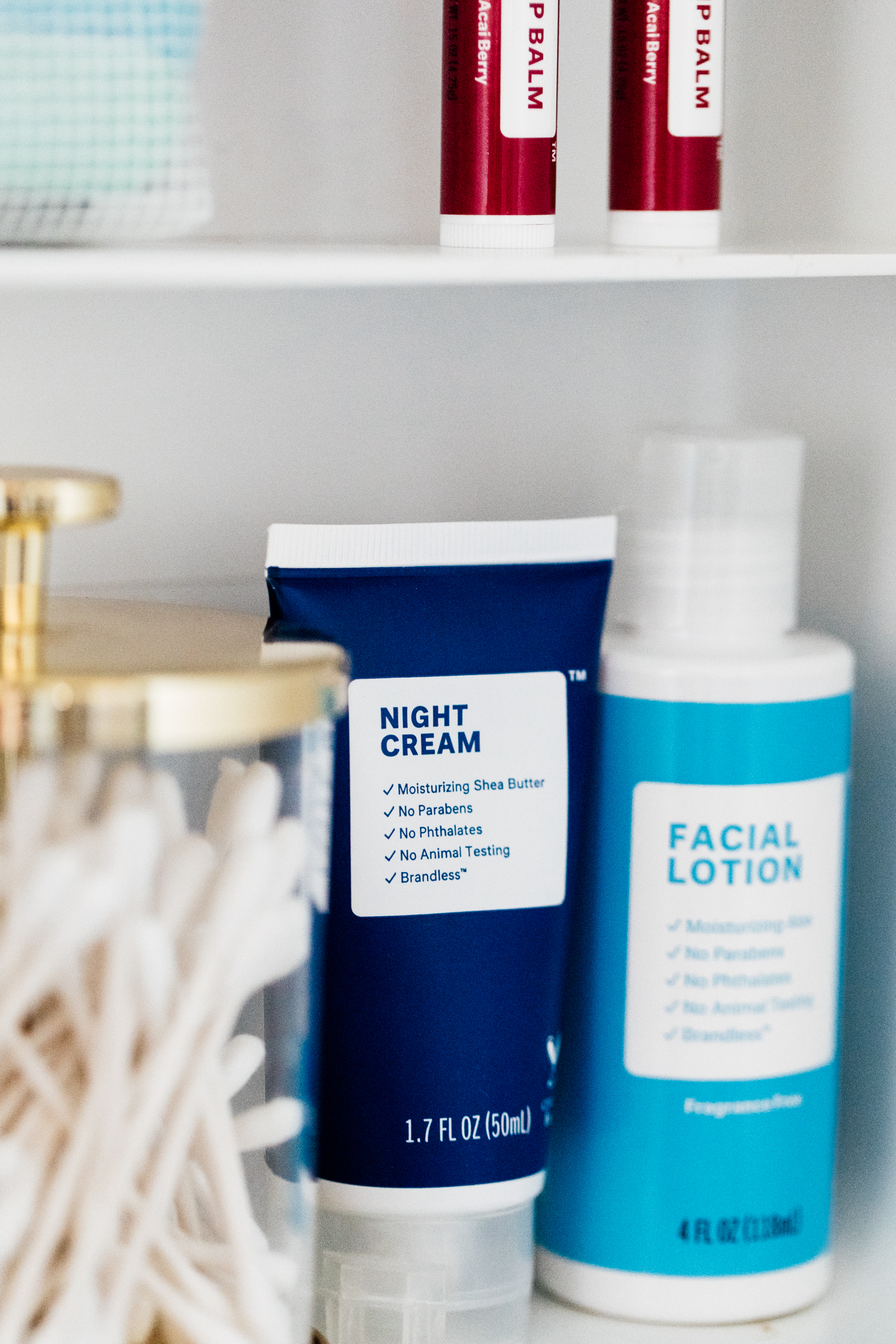 Review of Brandless Skincare Products: Night Cream + Facial Lotion