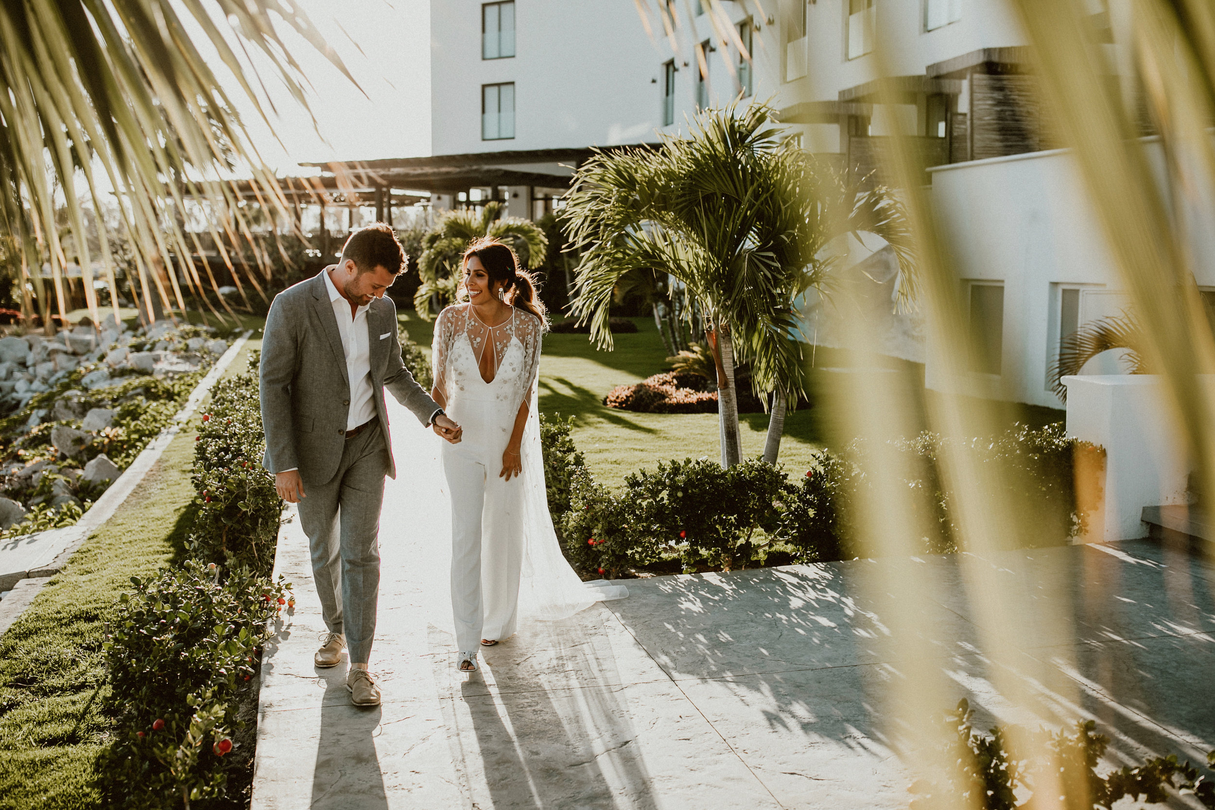 Andy + Ashley's Los Cabos Wedding Weekend - Welcome Party at El Ganzo Hotel |