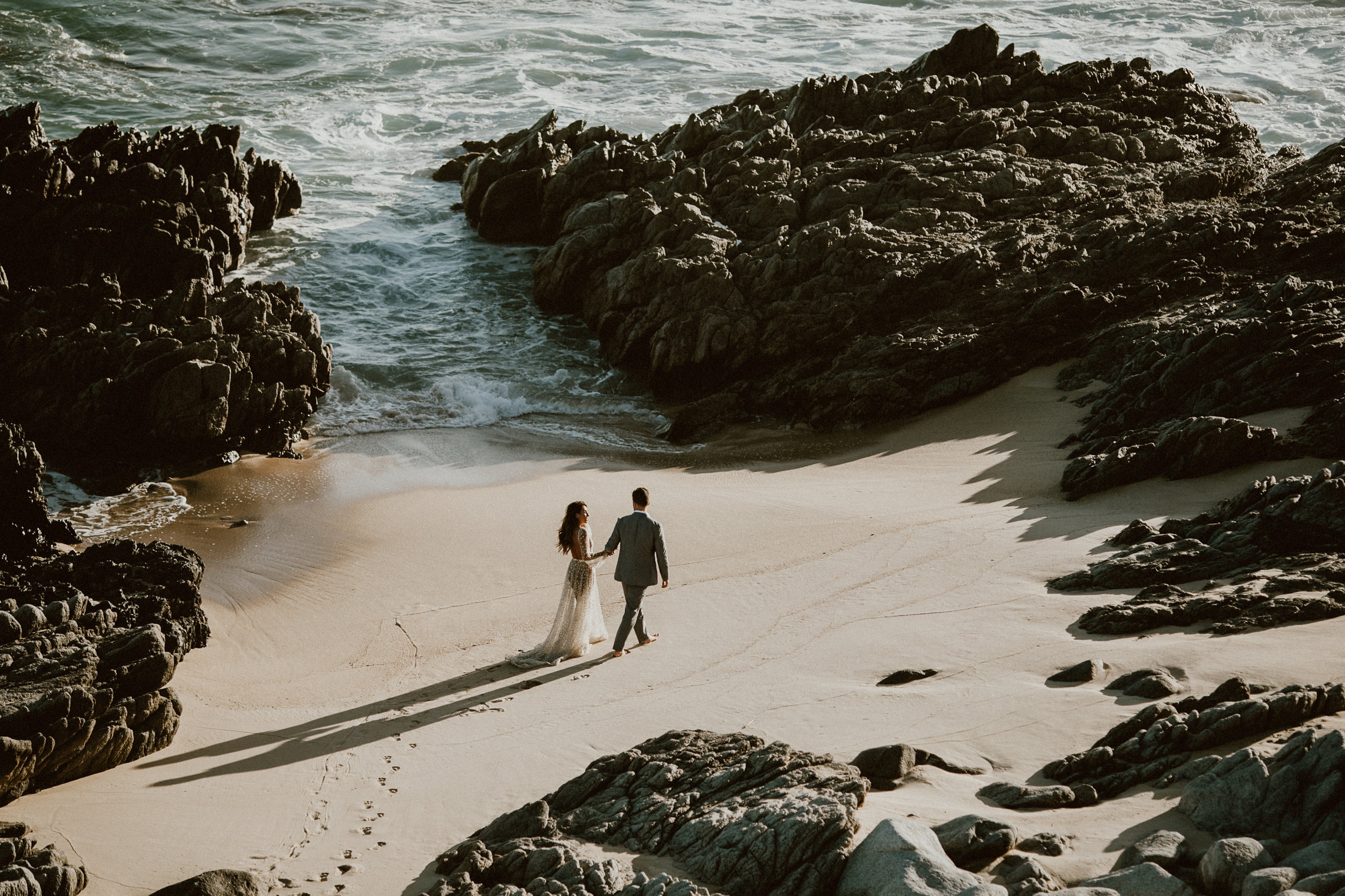 Glamorous Nala Dress by Chosen by One Day Bridal - Post Wedding Photoshoot in Los Cabos, Mexico   Everyday Pursuits Ashley + Andy