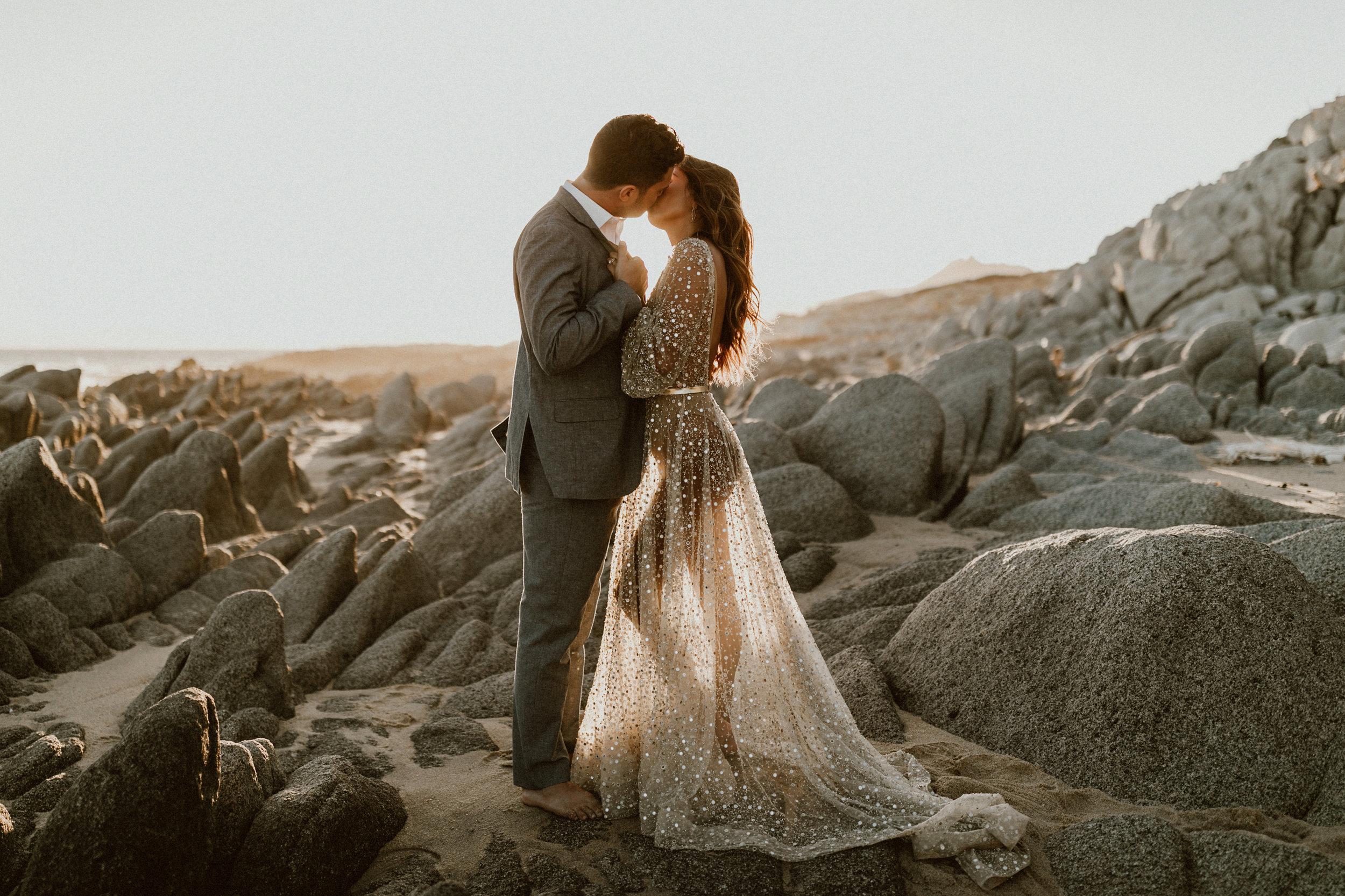 Glamorous Beach Photoshoot - Los Cabos, Mexico   Gina + Ryan Photography