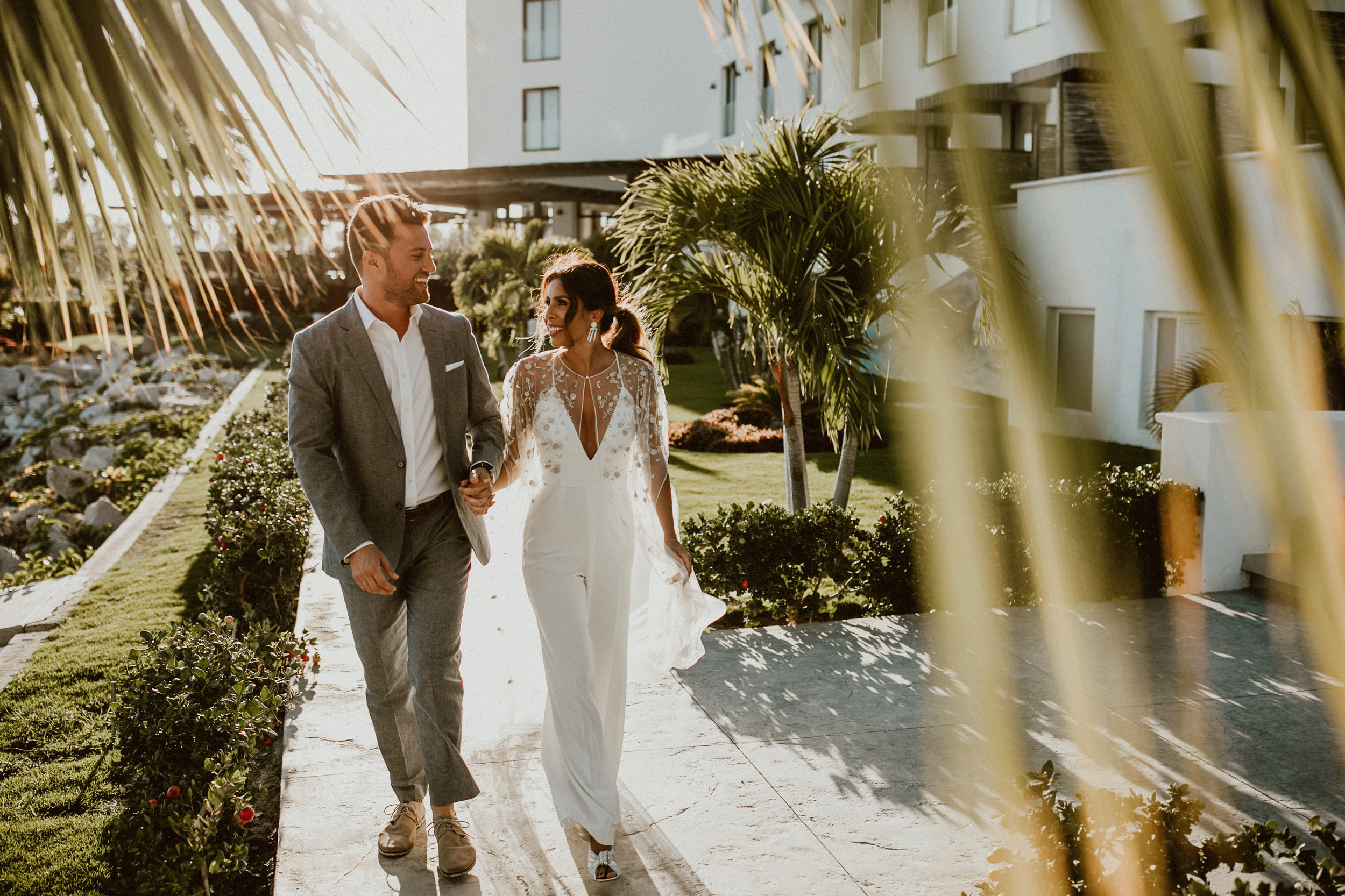 Tips for Spring Brides | Ashley of Everyday Pursuits in Jay Godfrey White Jumpsuit