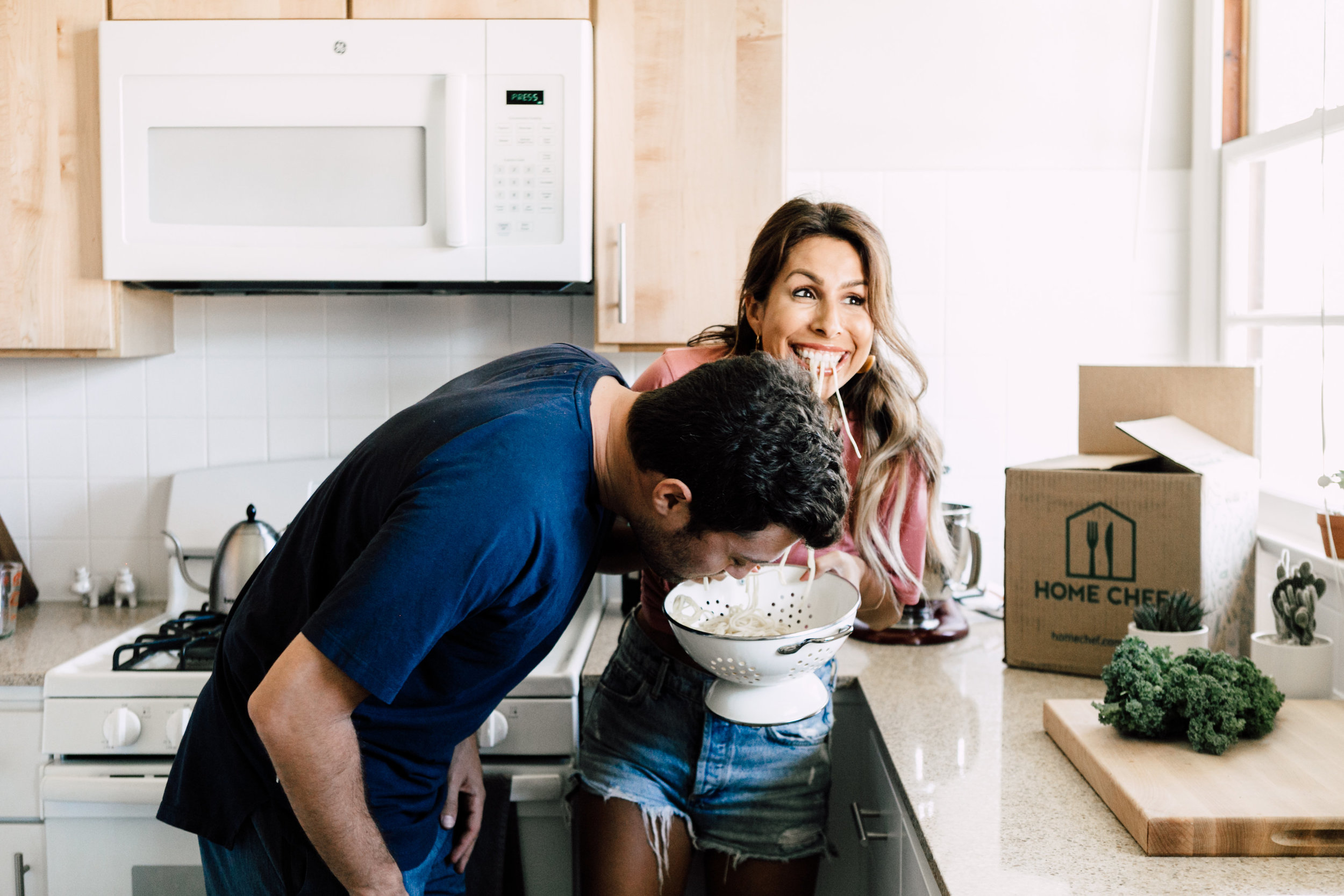 Couples Shoot ideas - Kitchen
