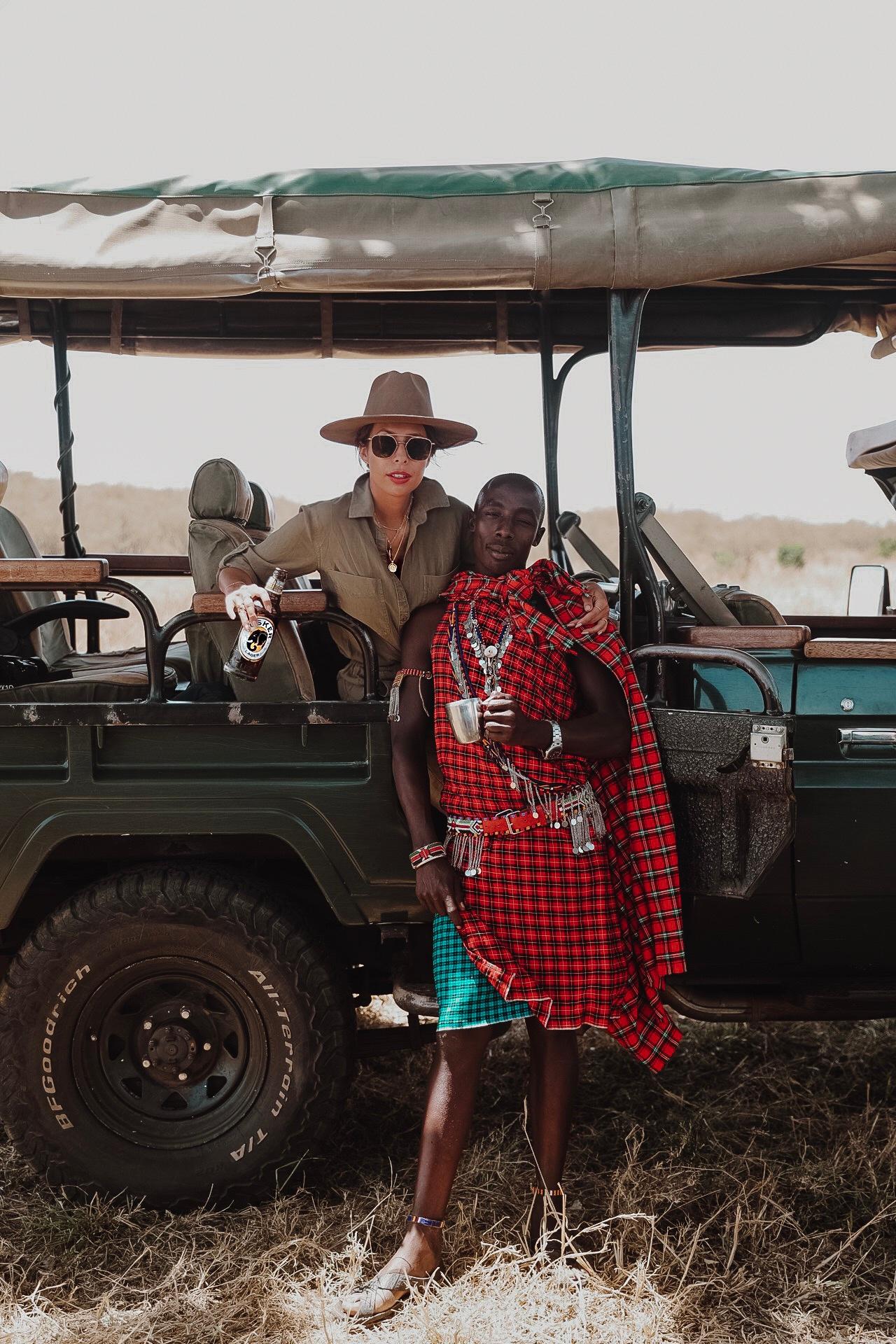 Maasai Warrior on Safari in Kenya, Africa Ph. Valorie Darling