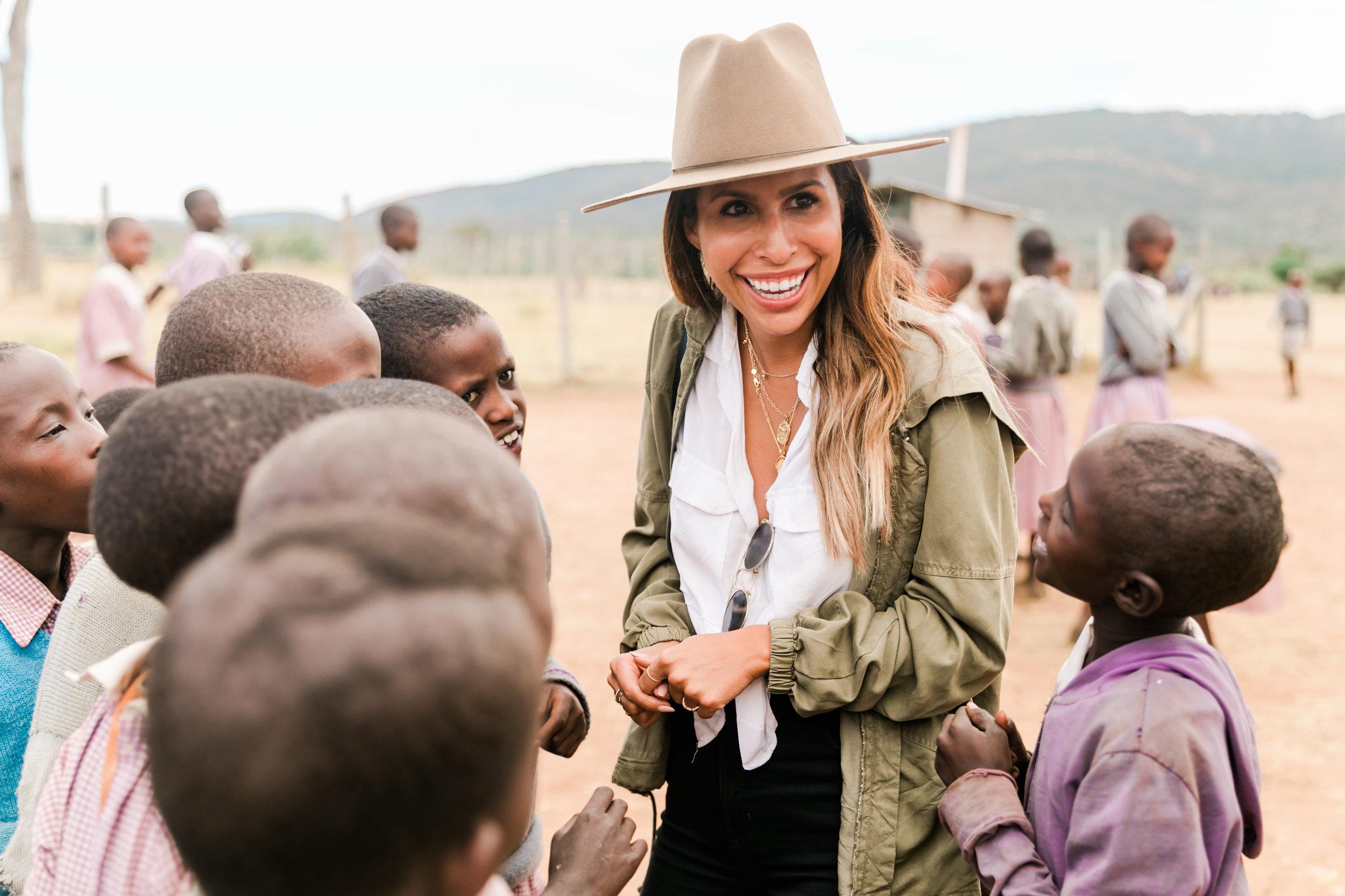 Visiting School in Maasai Mara, Kenya - Ph Valorie Darling