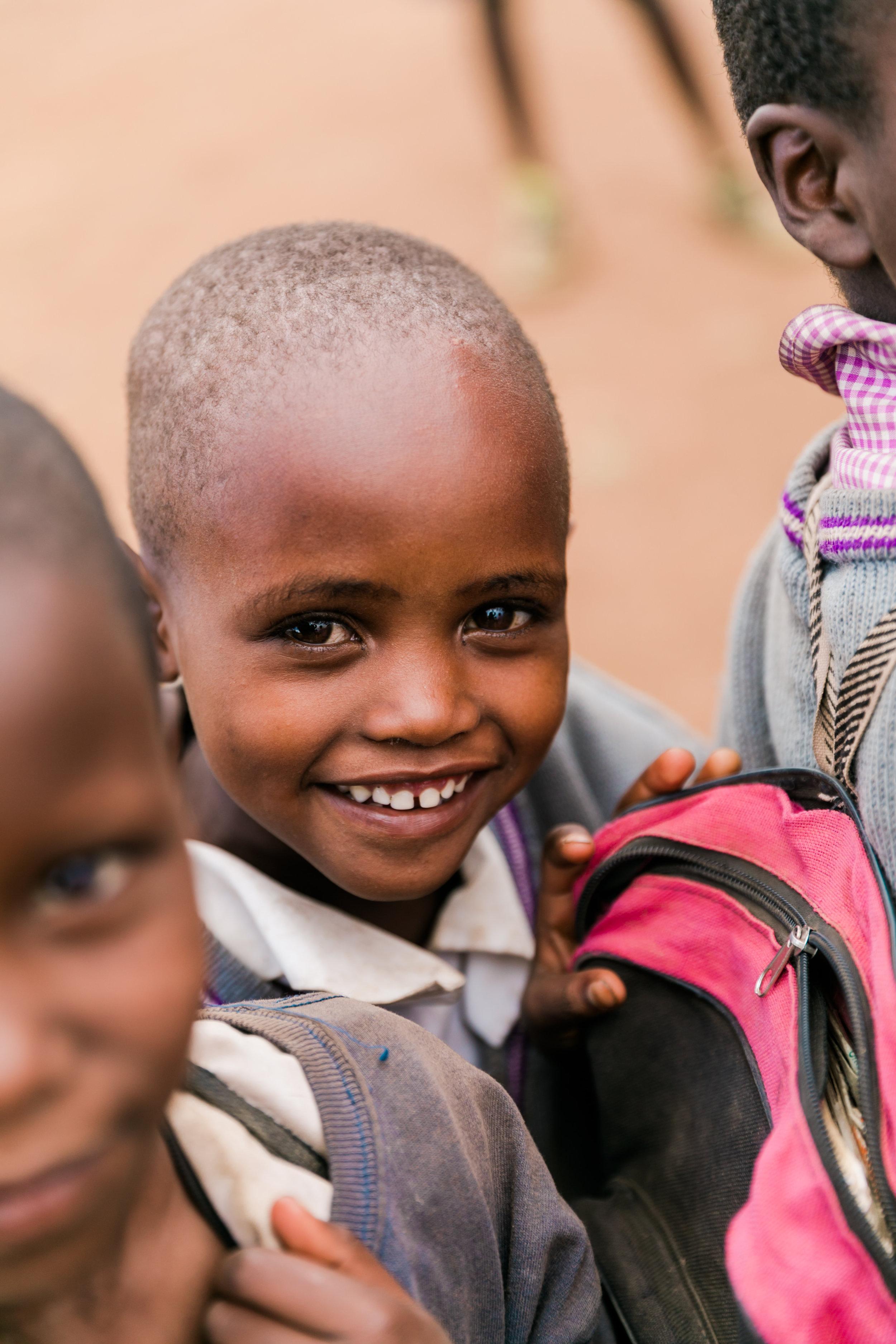 School visit on Safari In Kenya - Ph. Valorie Darling