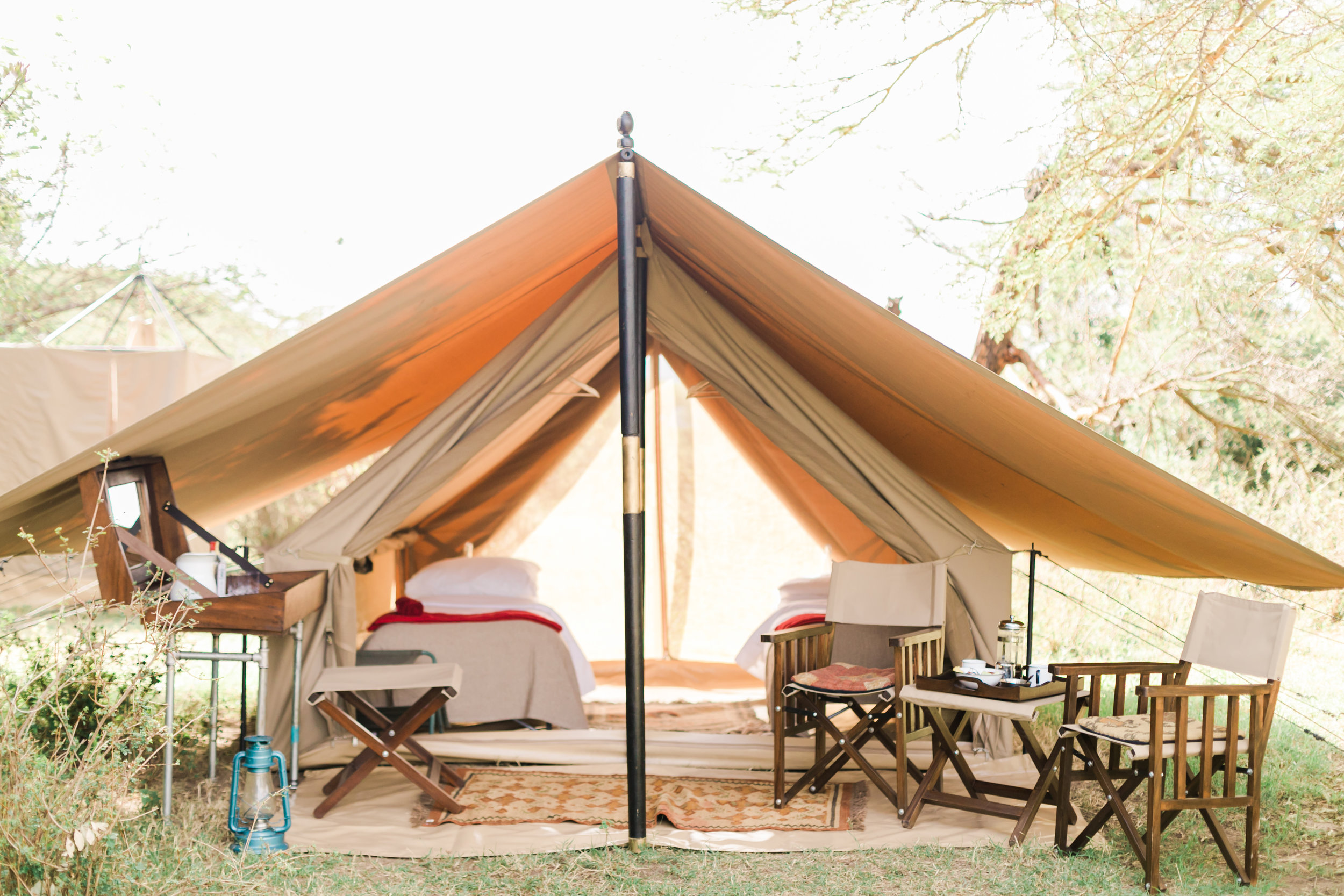 Cottar's Fly Camp Tents - Kenya Safari Ph. Valorie Darling