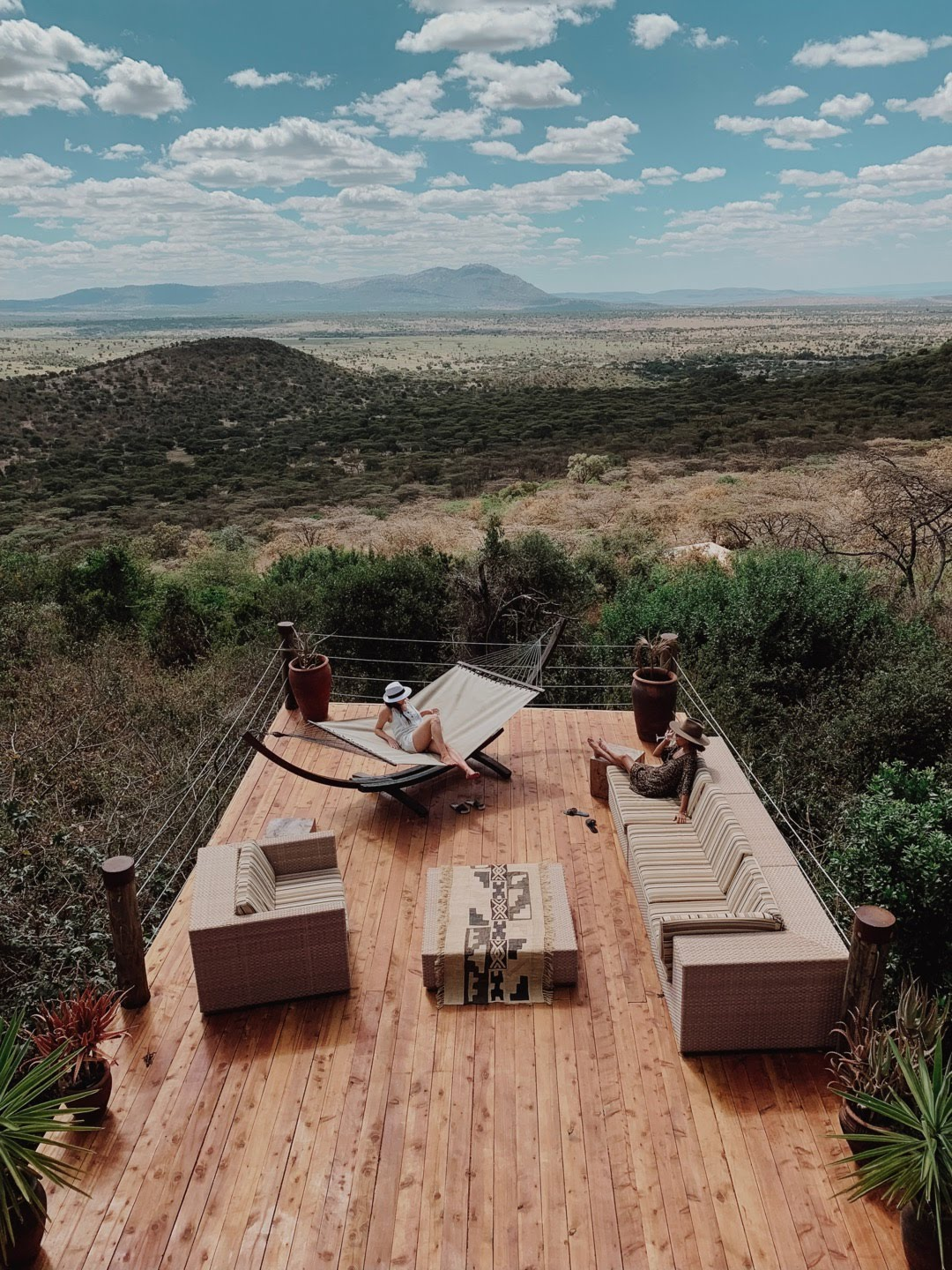 Relaxing in the Bush Villa at Cottars 1920s Camp Ph. Valorie Darling