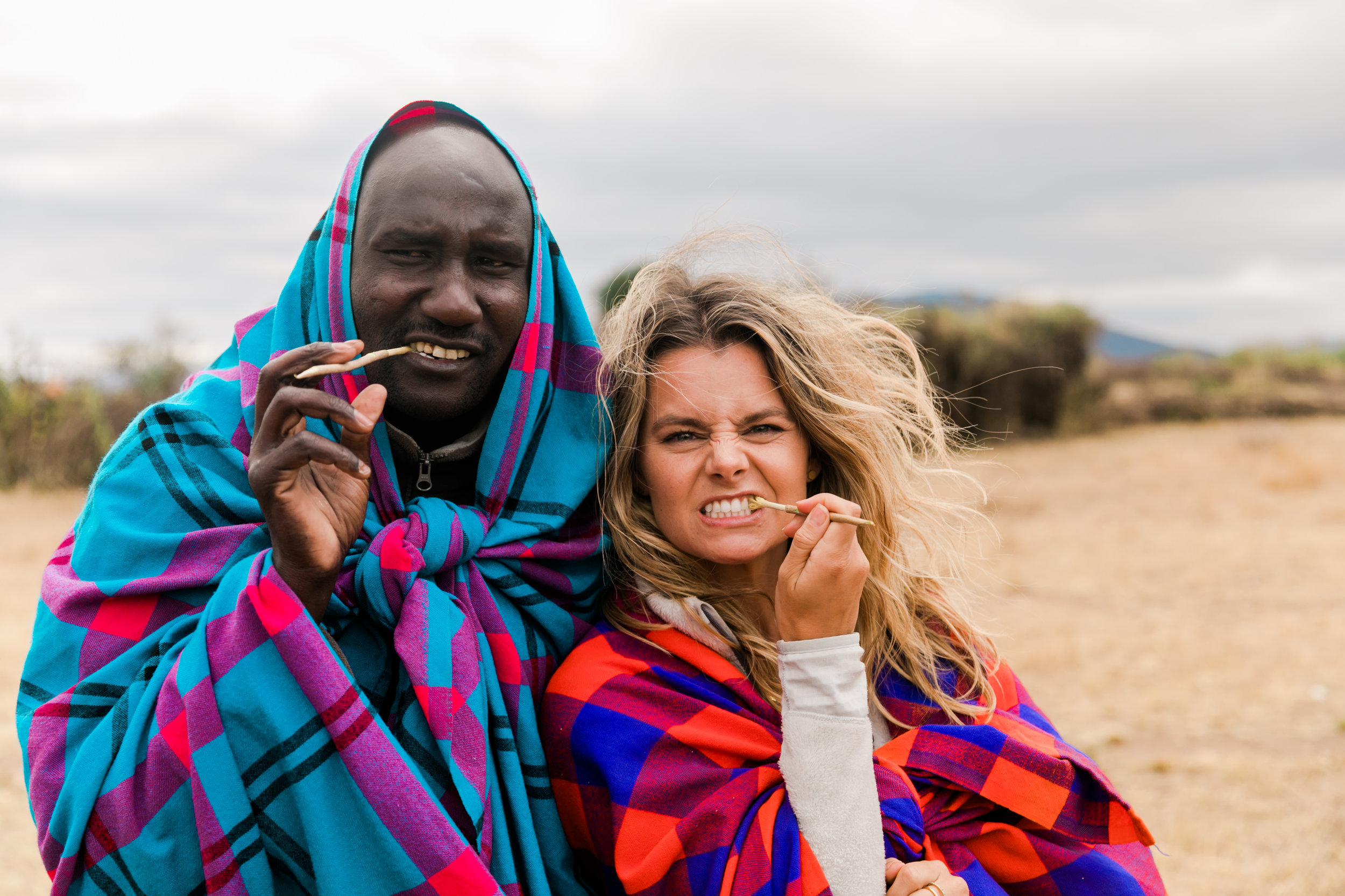 Maasai Toothbrush Ph. Valorie Darling