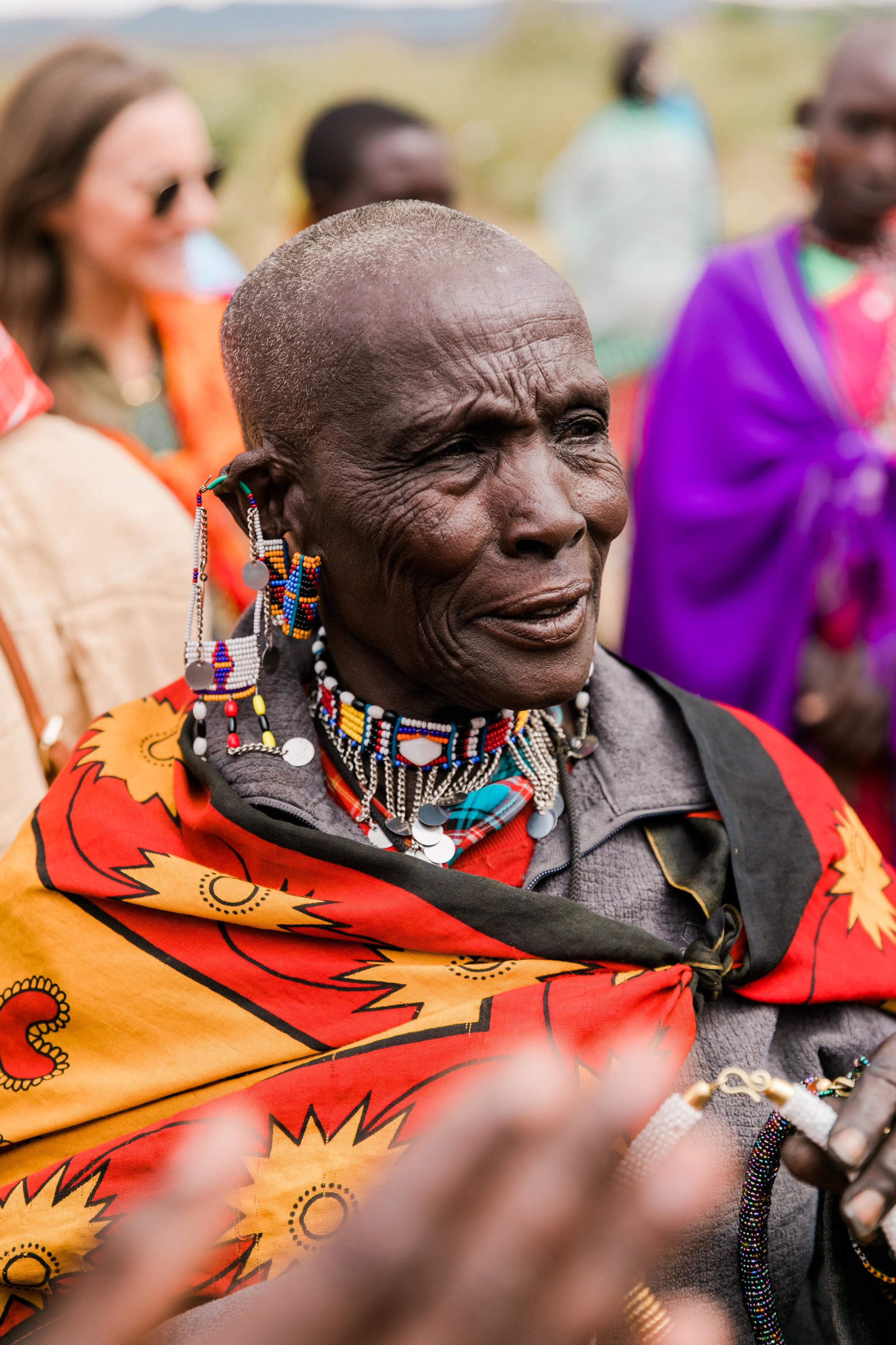 Maasai Village Visit - Ph. Valorie Darling