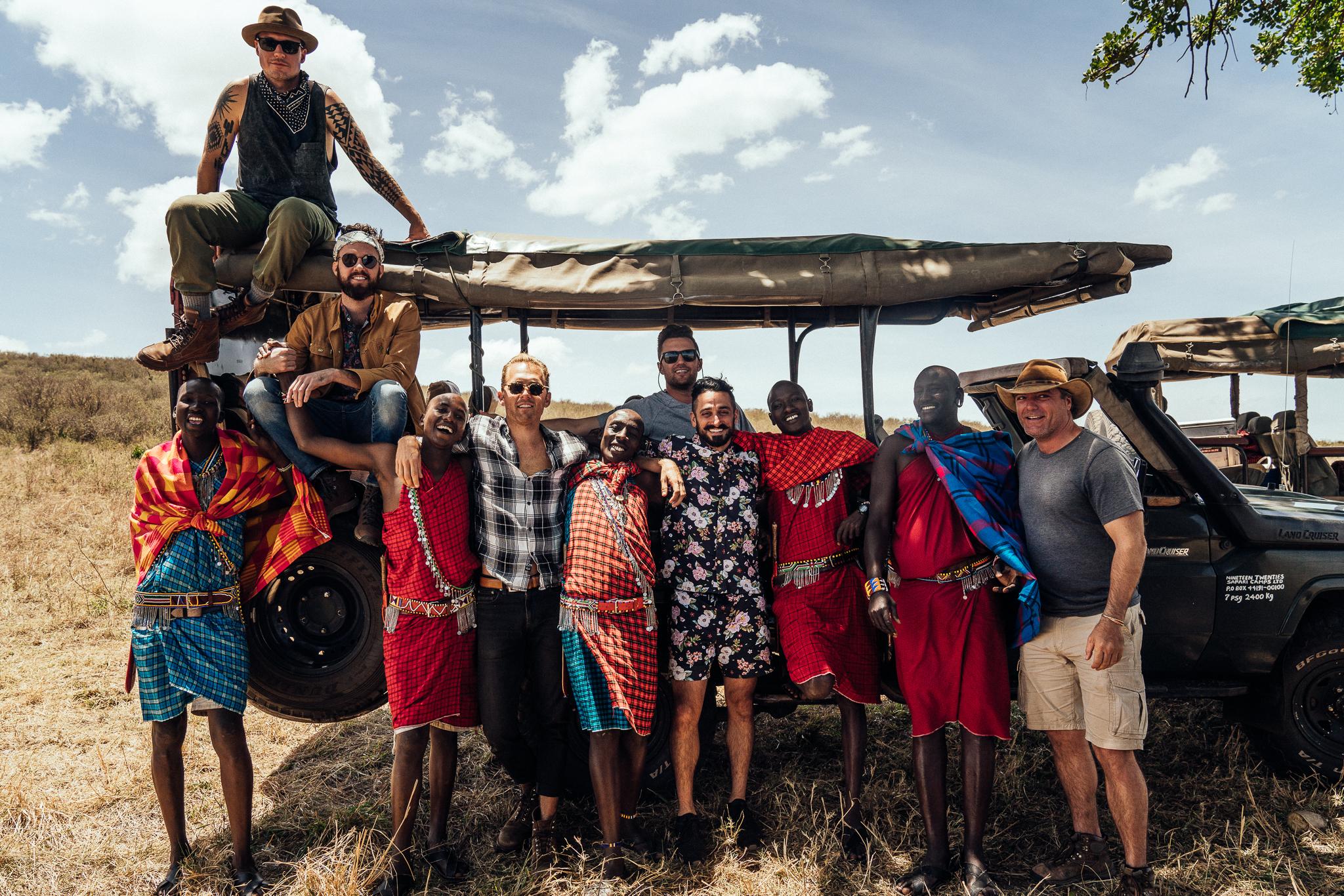 Safari Guys - Cottars 1920s Camp with Kin Travel Ph. Dave Krugman