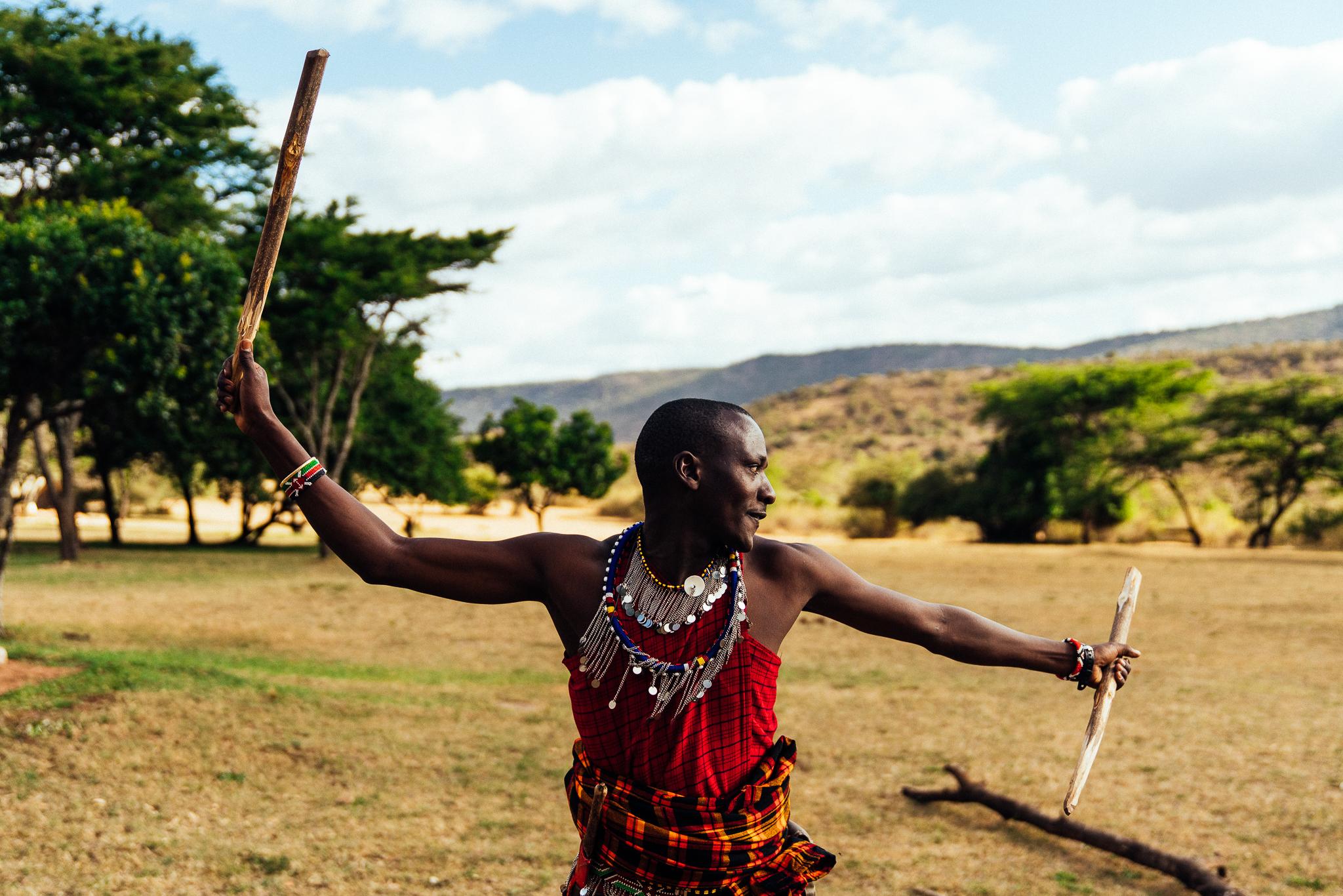 Maasai Warrior Ph. Dave Krugman