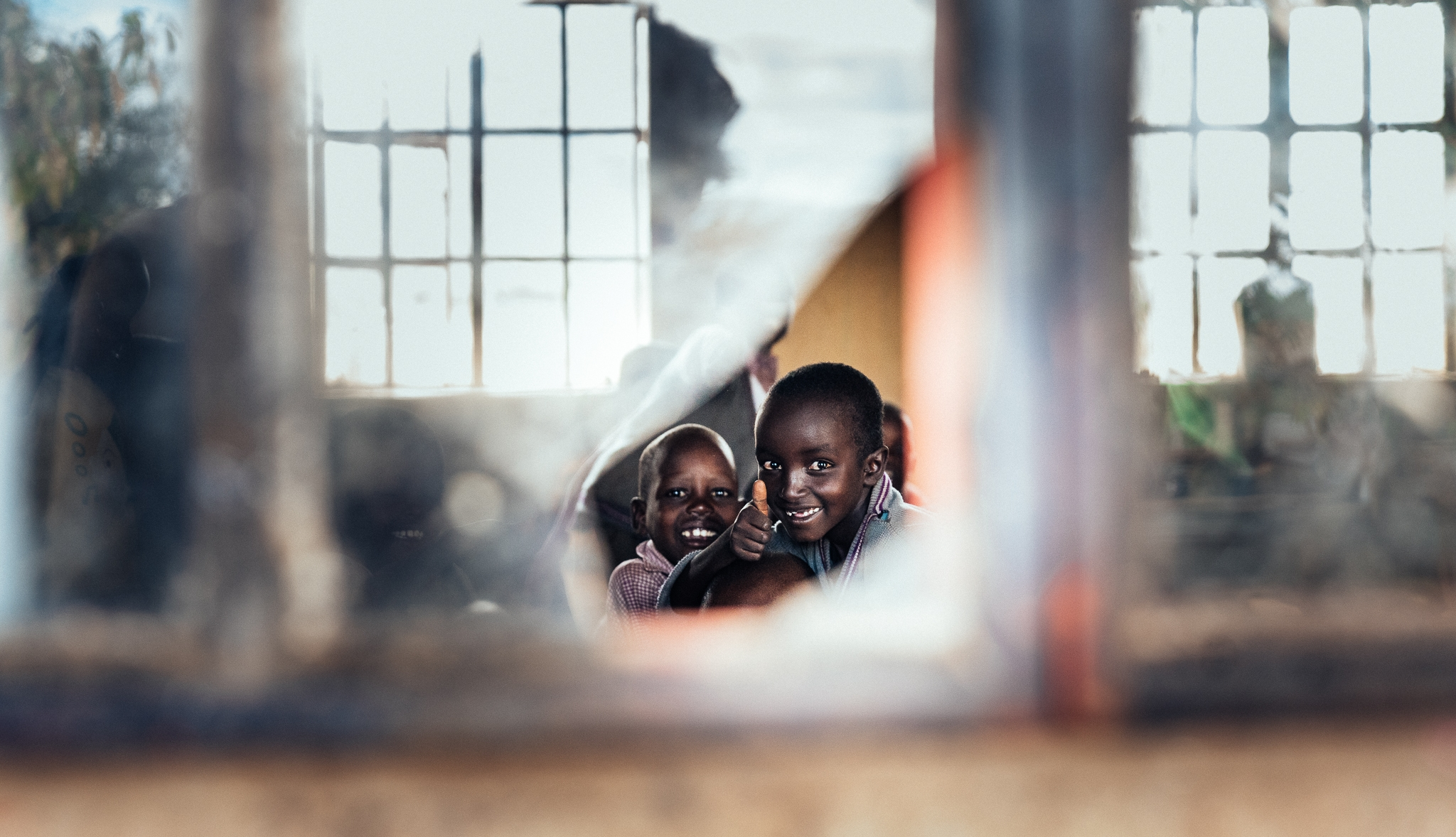 Maasai Mara School Visit Ph. Dave Krugman