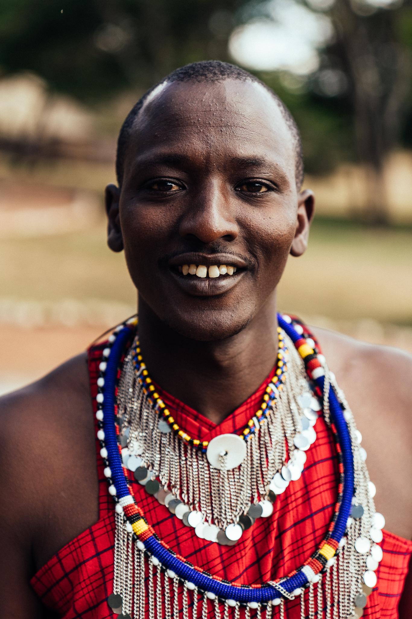 Maco - Maasai Guide at Cottars 1920s Ph Dave Krugman