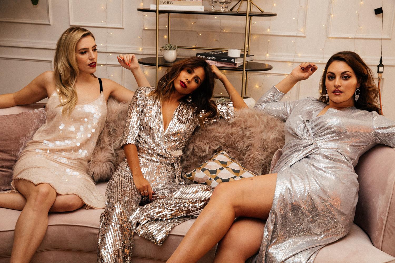 NYE style: Zara Sequin Set