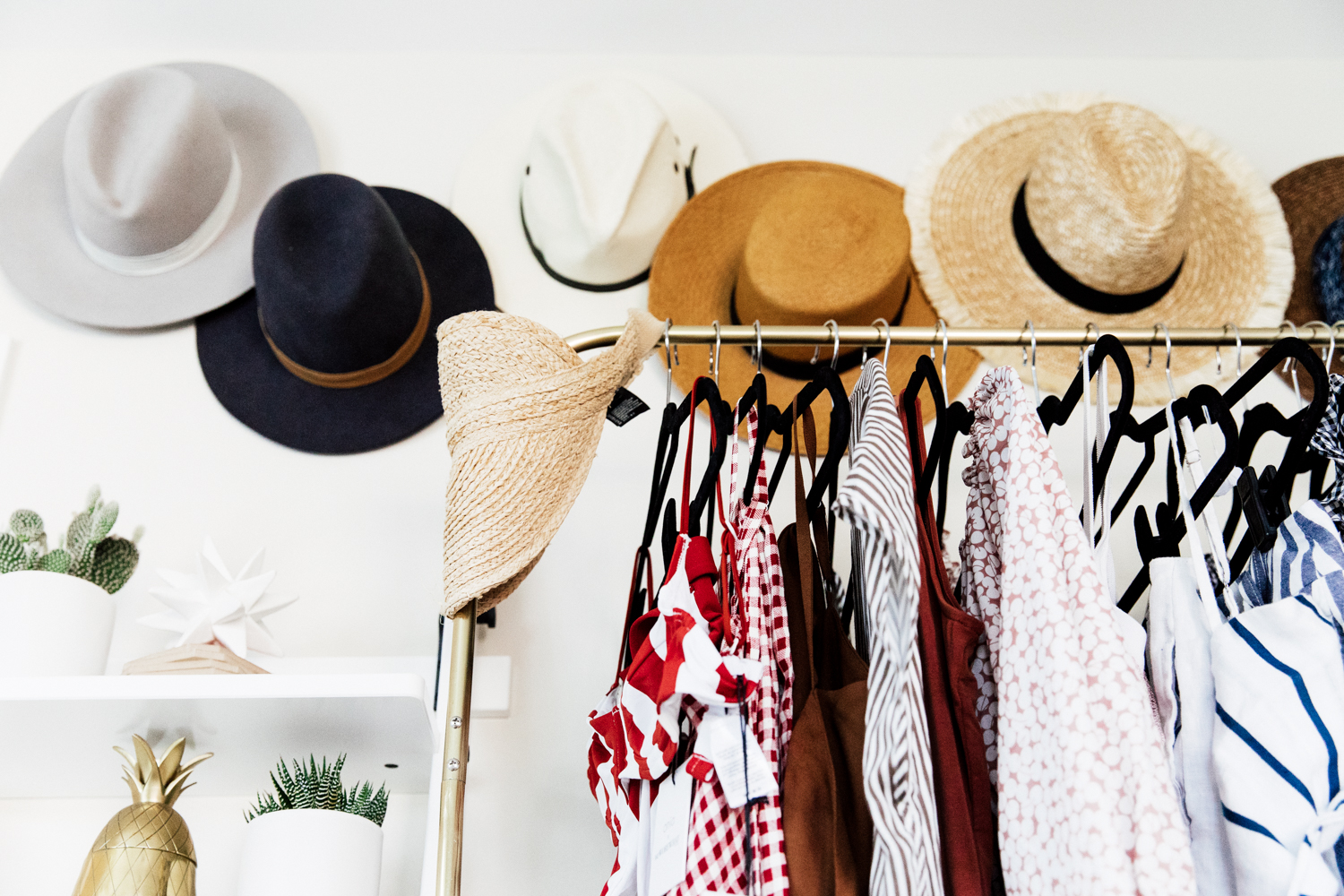 Favorite hat brands: Janessa Leone and Lack of Color