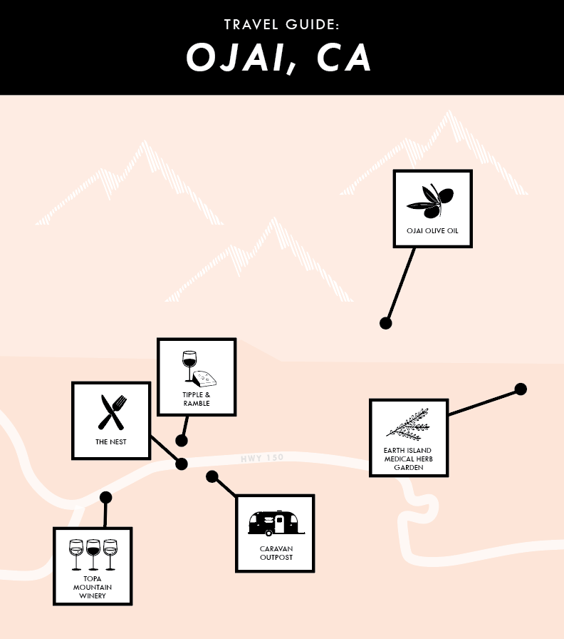 What to do in Ojai - Caravan Outpost, The Nest, Tipple + Ramble, and more