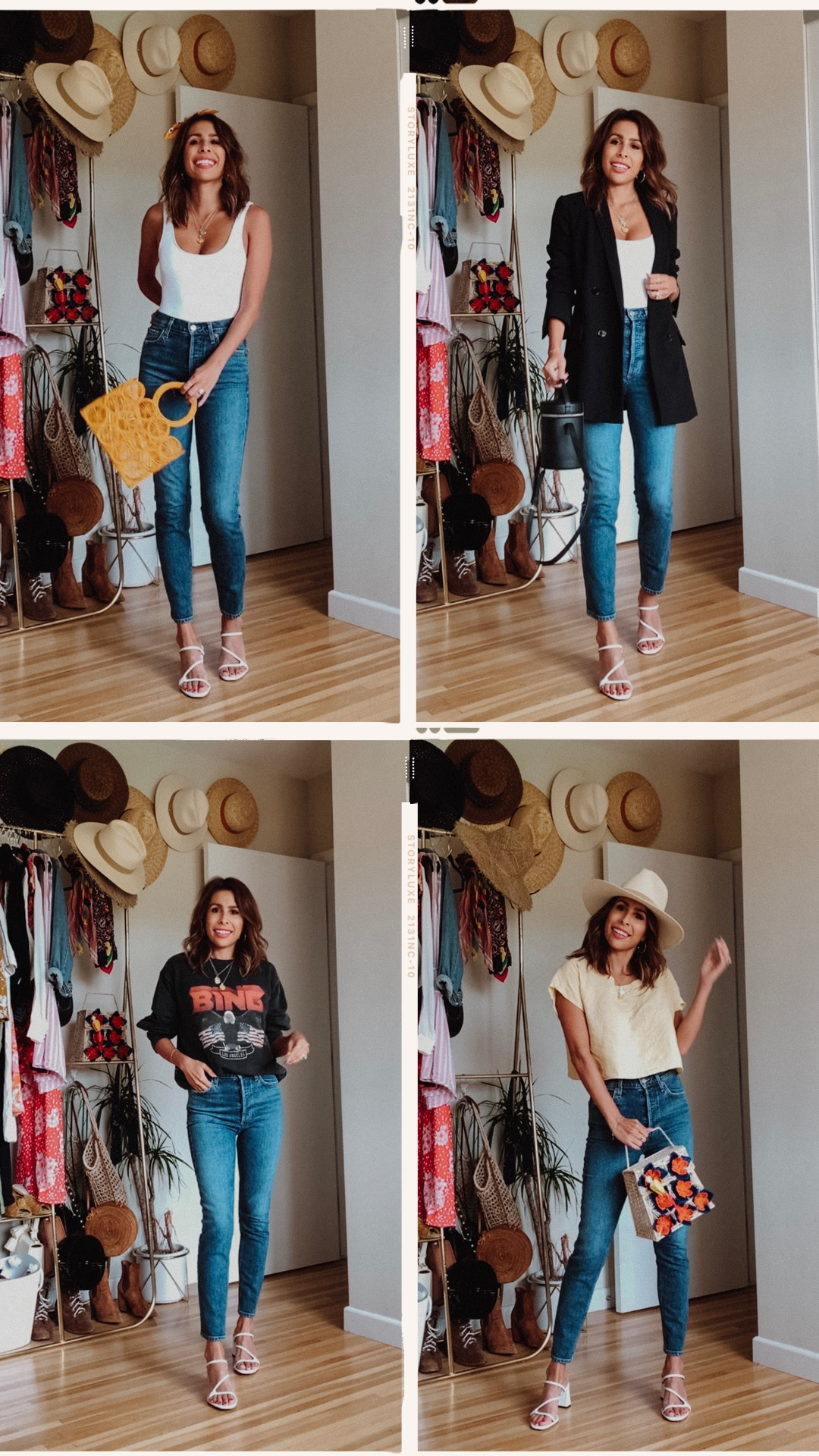 Mom Jeans Outfits 1 - 4