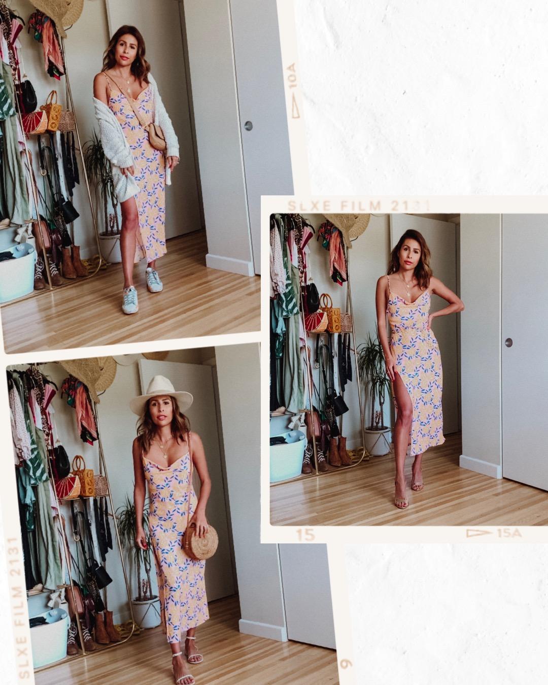 Endless Summer Madison Midi Dress - How to style it 3 ways