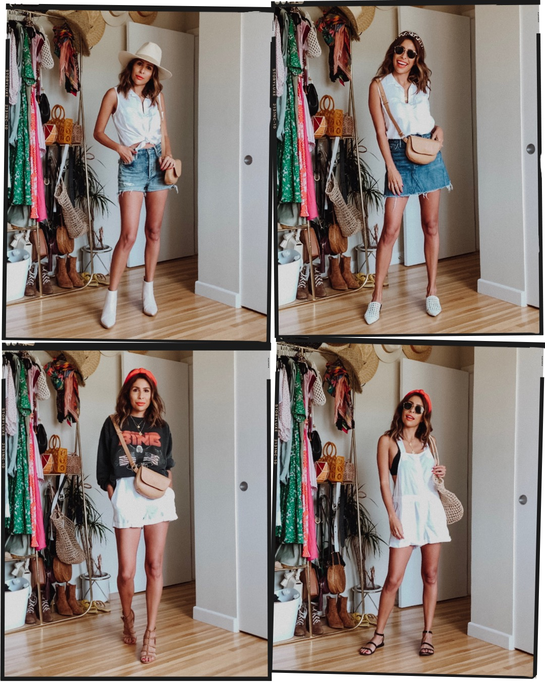 How to style 2 Bella Dahl Pieces for a weekend of summer outfits