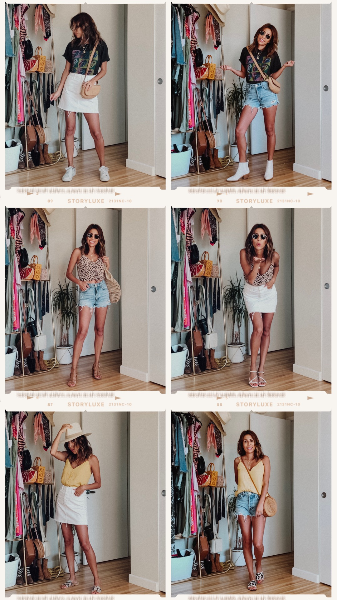 6 casual summer outfits