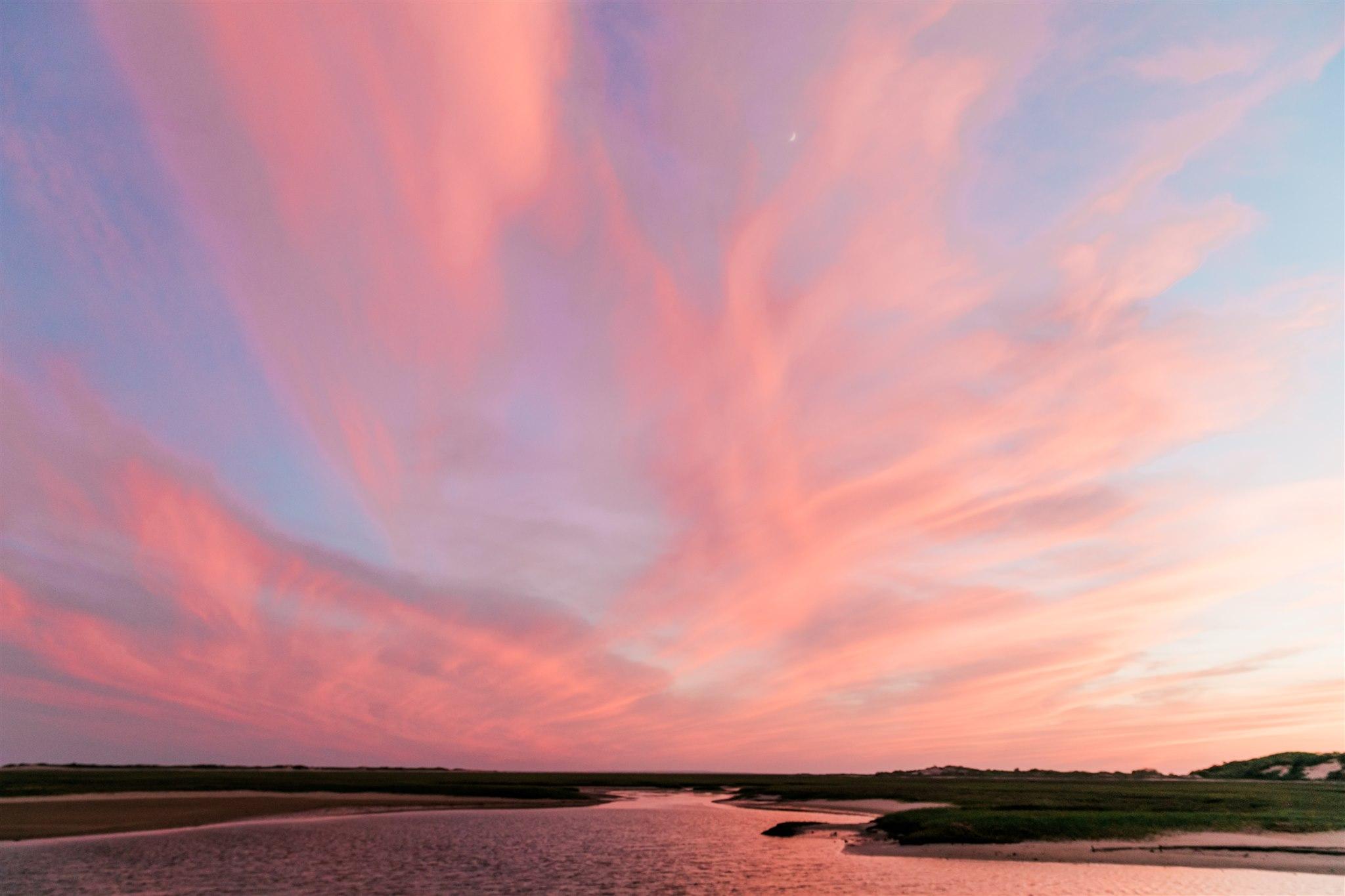 Sunset in Ptown Cape Cod