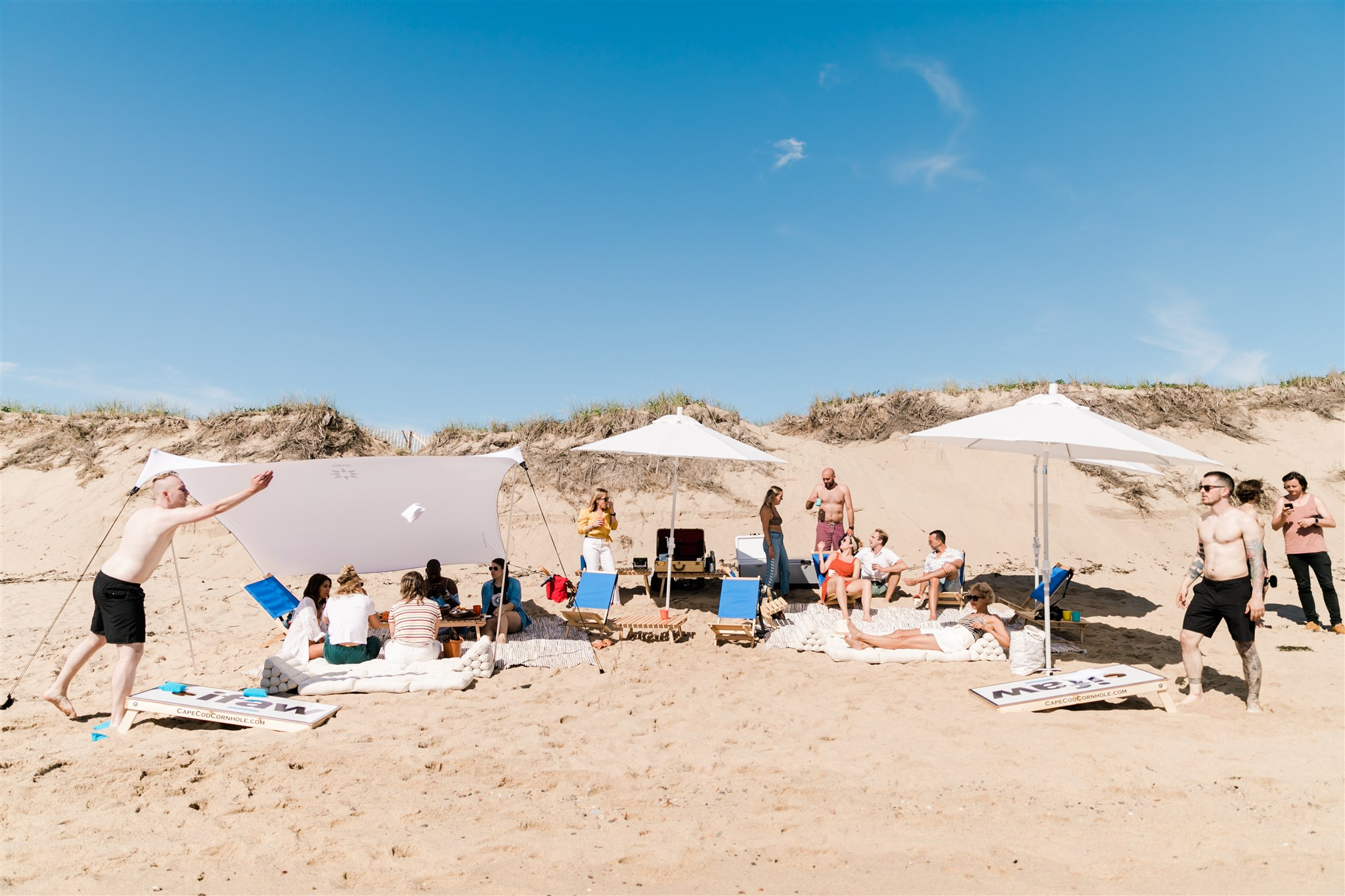 Beach hangout in Ptown, Cape Cod with IFAW + Kin Travel