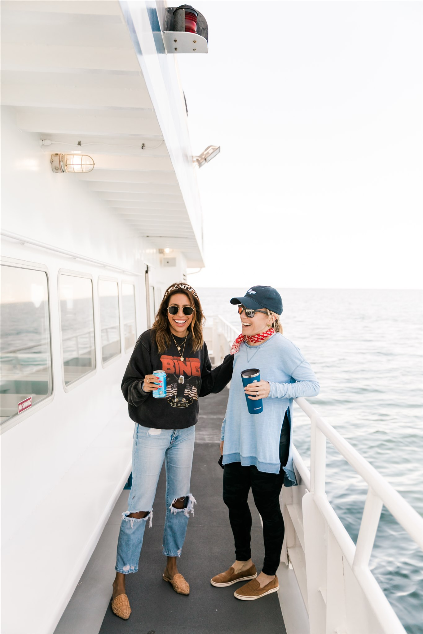 When you have the whale watching boat all to yourselves - Ptown, Cape Cod with IFAW + Kin Travel