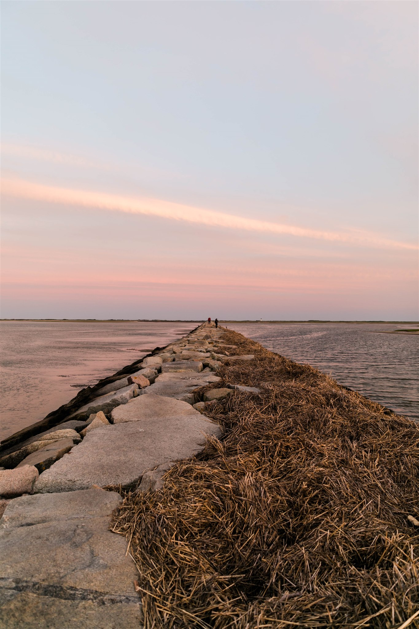 Sunset in Ptown, Cape Cod with IFAW + Kin Travel