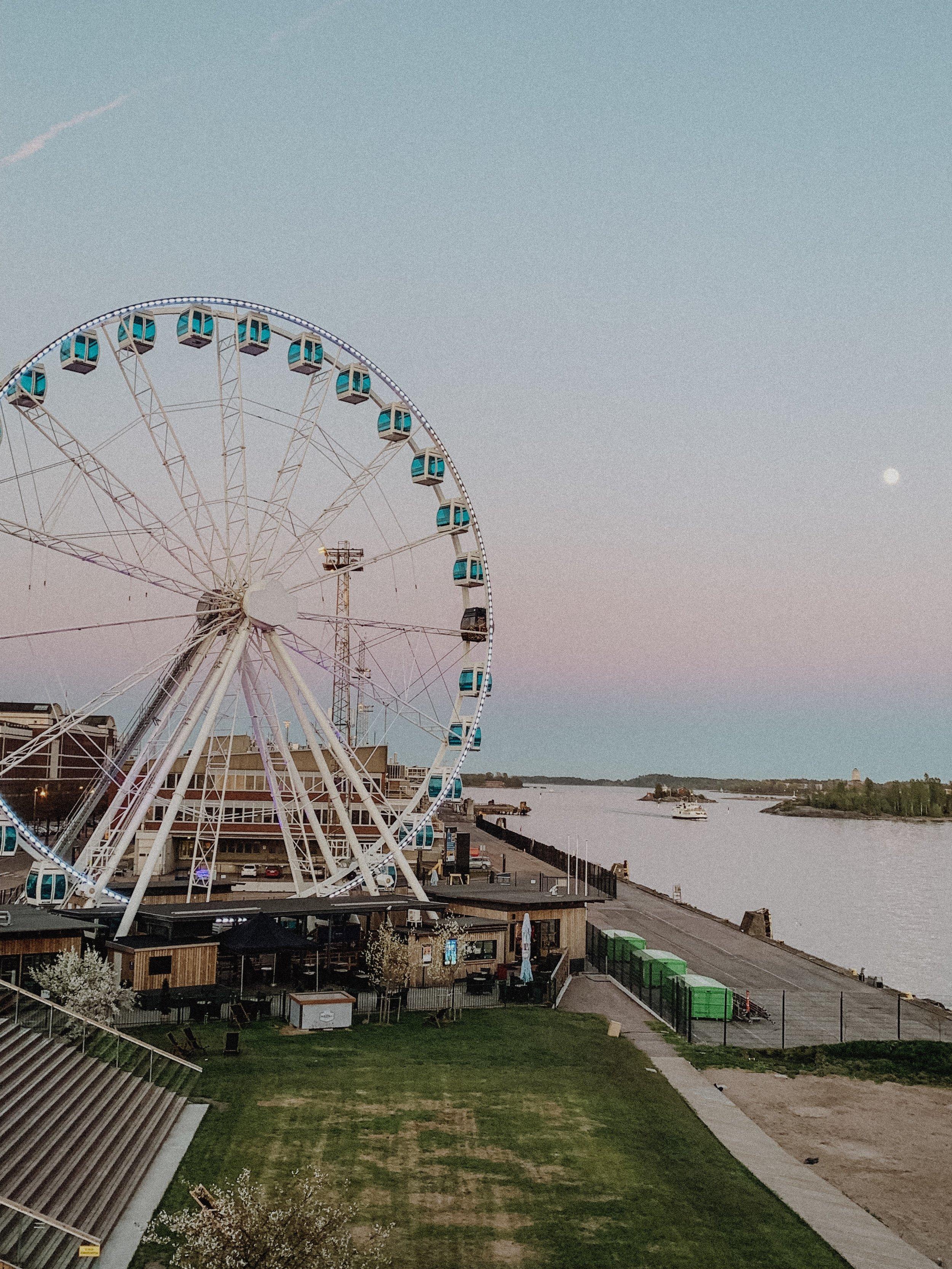 Ferris Wheel in Helsinki, Finland