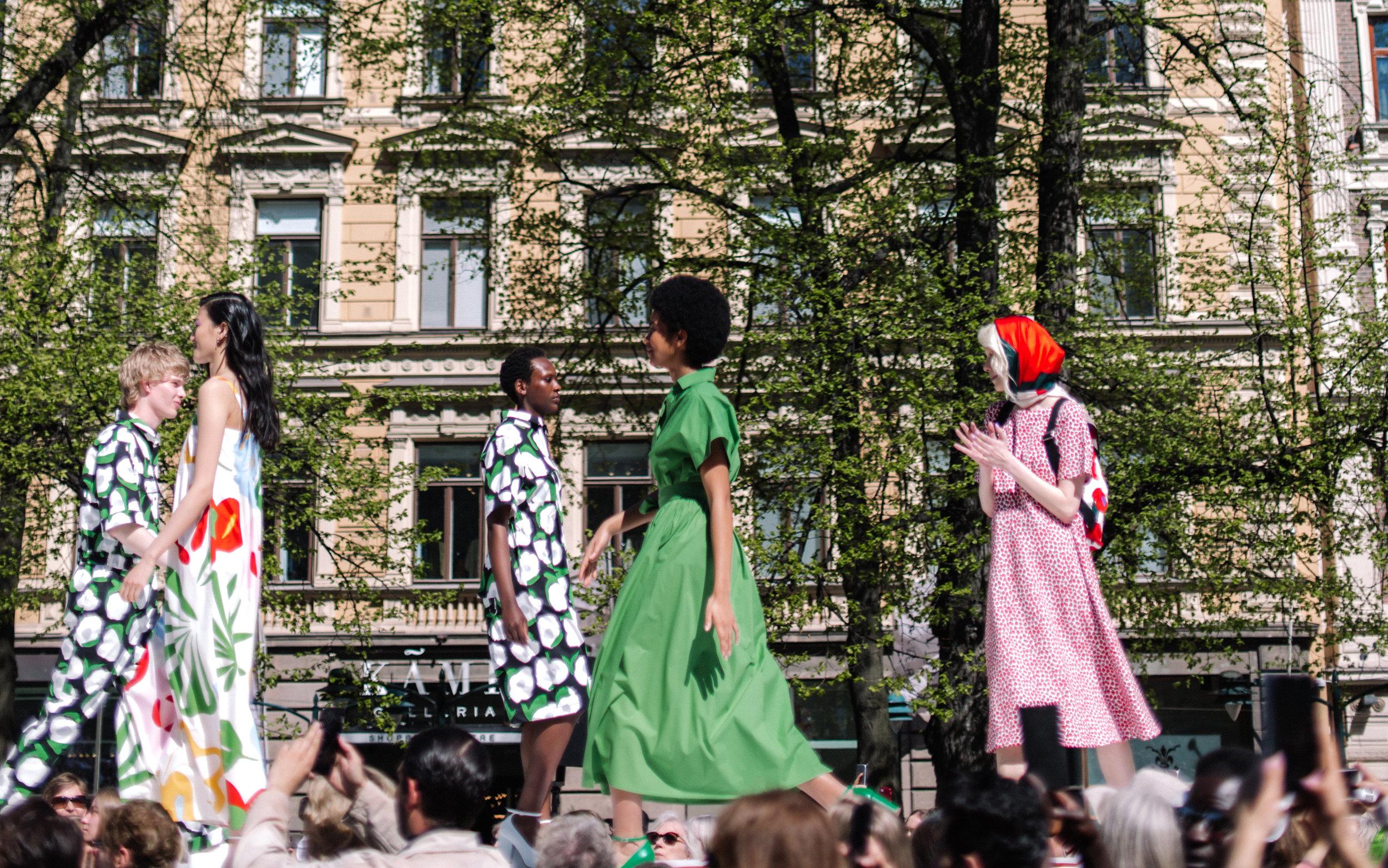 Marimekko Fashion Show in Helsinki