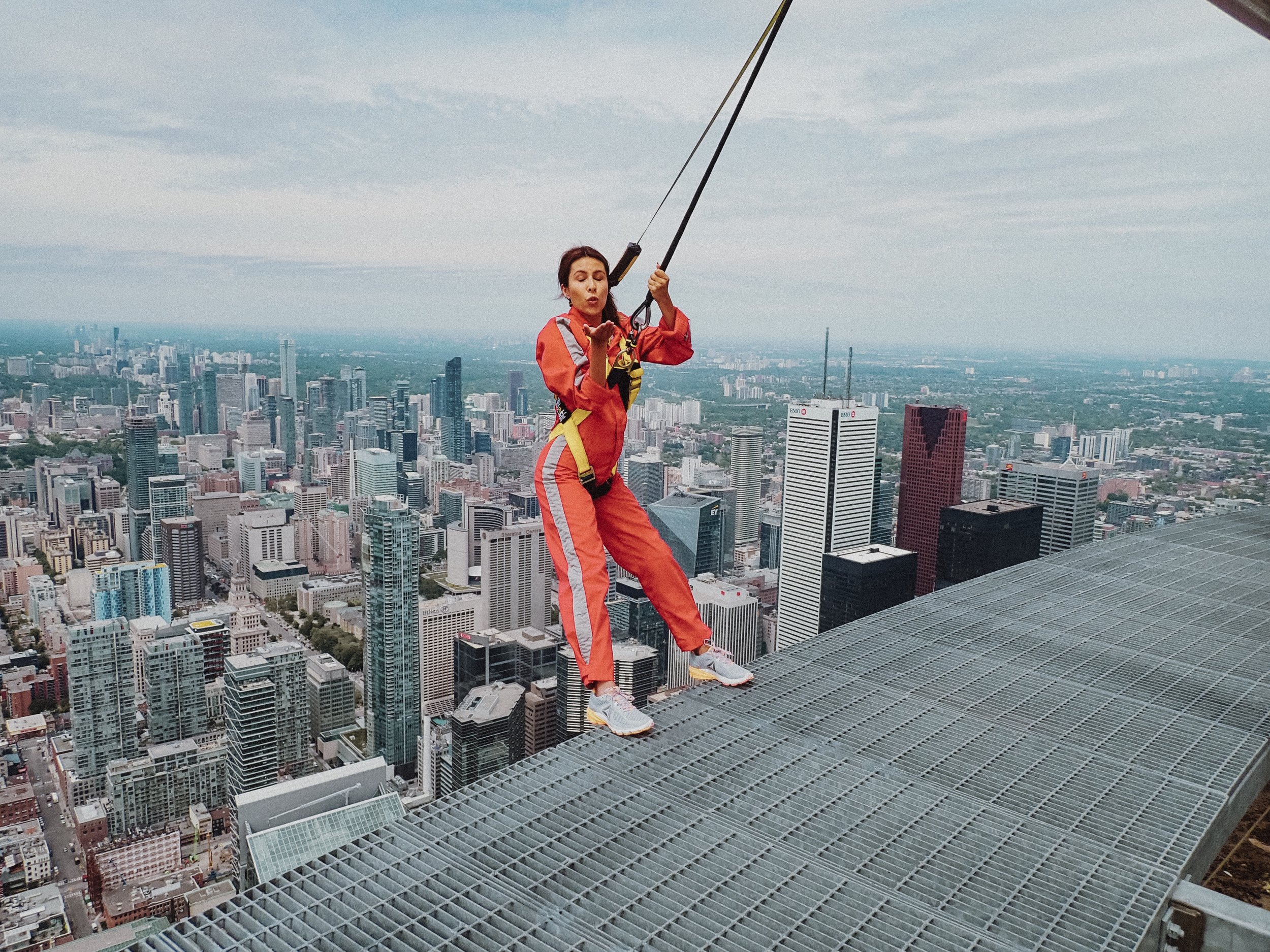 CN Tower Edgewalk - Everyday Pursuits