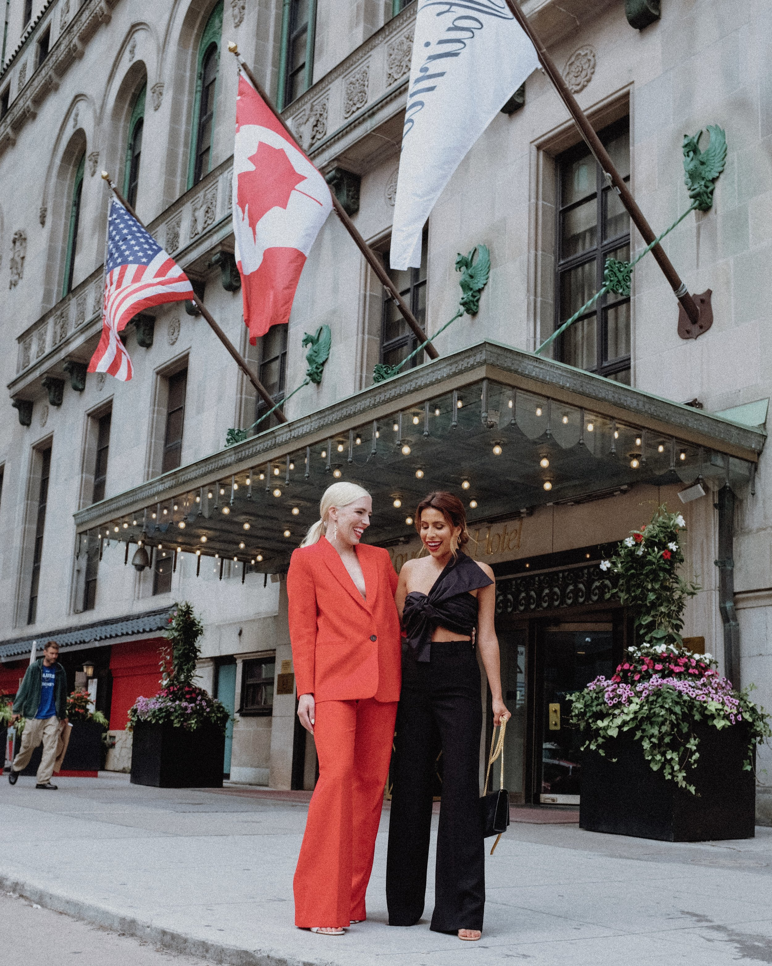 Outside of Fairmont Royal York
