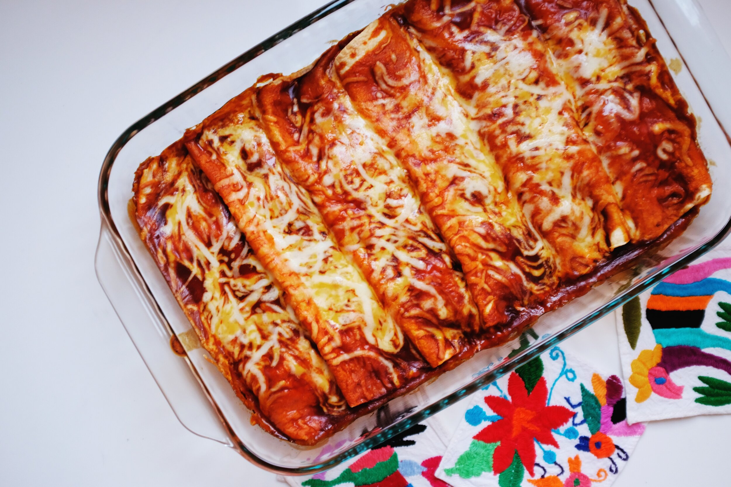 4 Ingredient Chicken Enchilada Recipe Everyday Pursuits