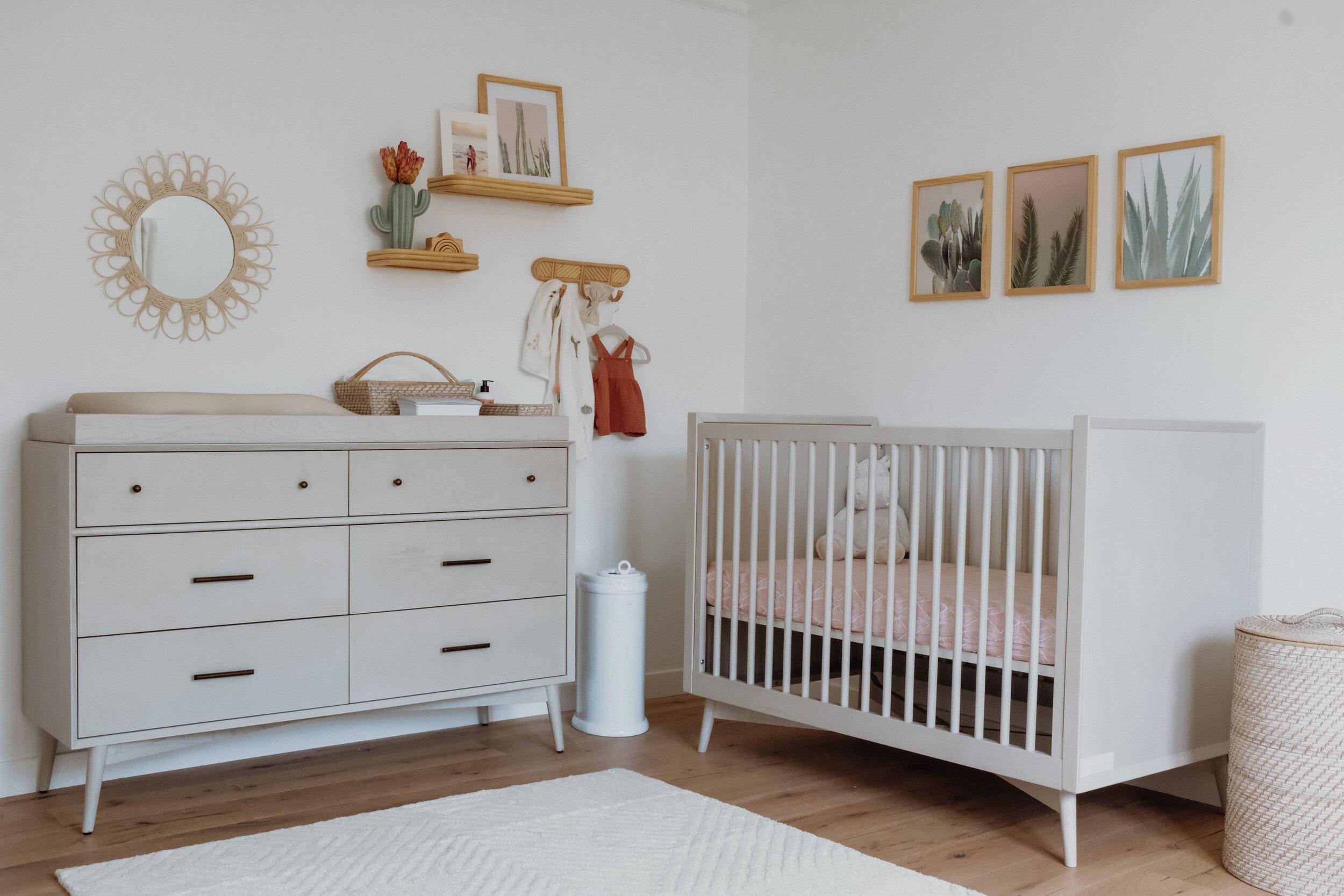 Boho California Dreaming Nursery For