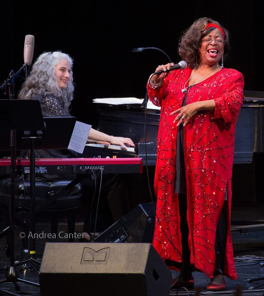 Pianist Mary Louise Knutson and vocalist Debbie Duncan, Minneapolis, MN.