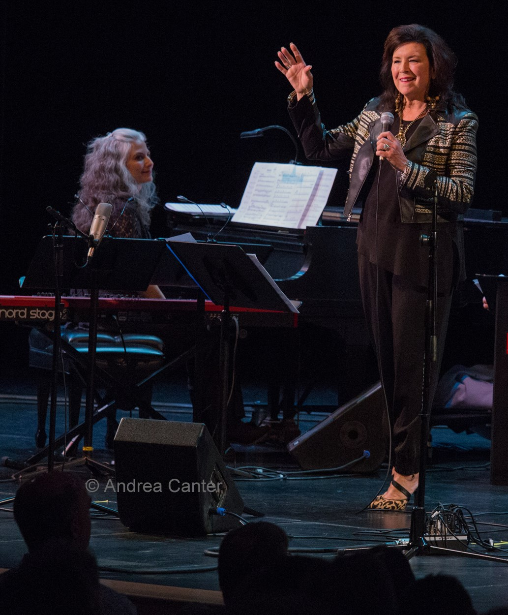 Pianist Mary Louise Knutson and vocalist Patty Peterson, Minneapolis, MN.